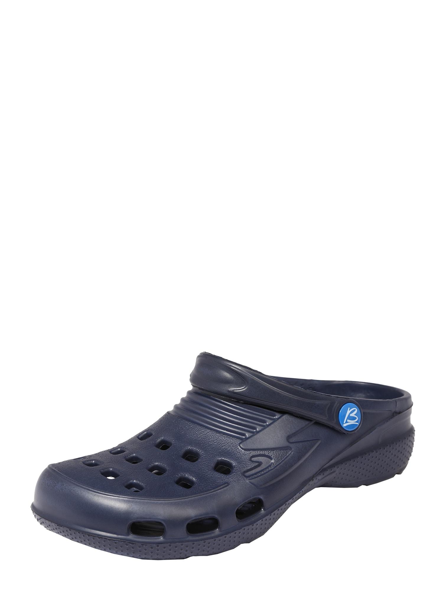 BECK Atviri batai tamsiai mėlyna