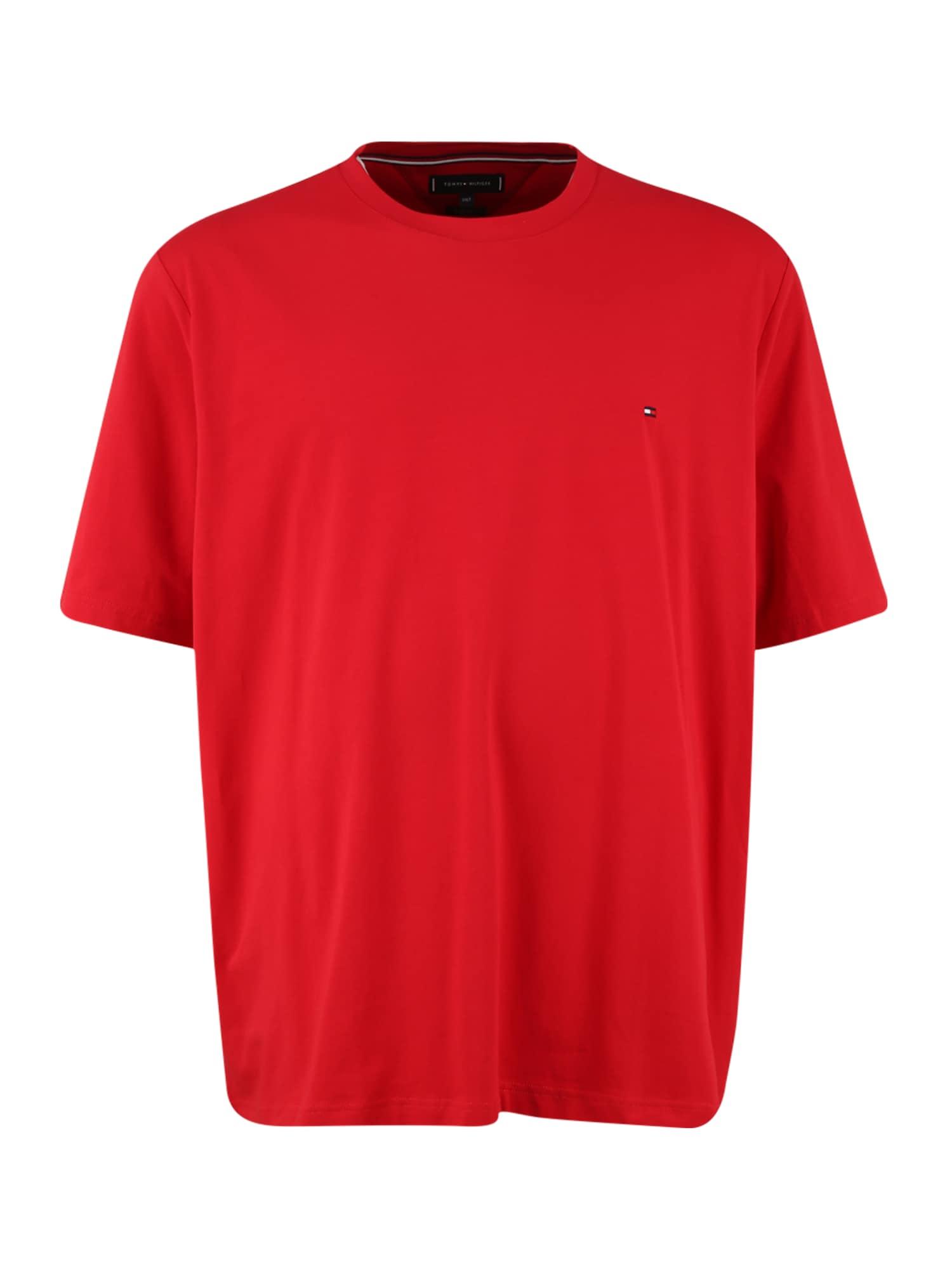 Tommy Hilfiger Big & Tall Marškinėliai raudona