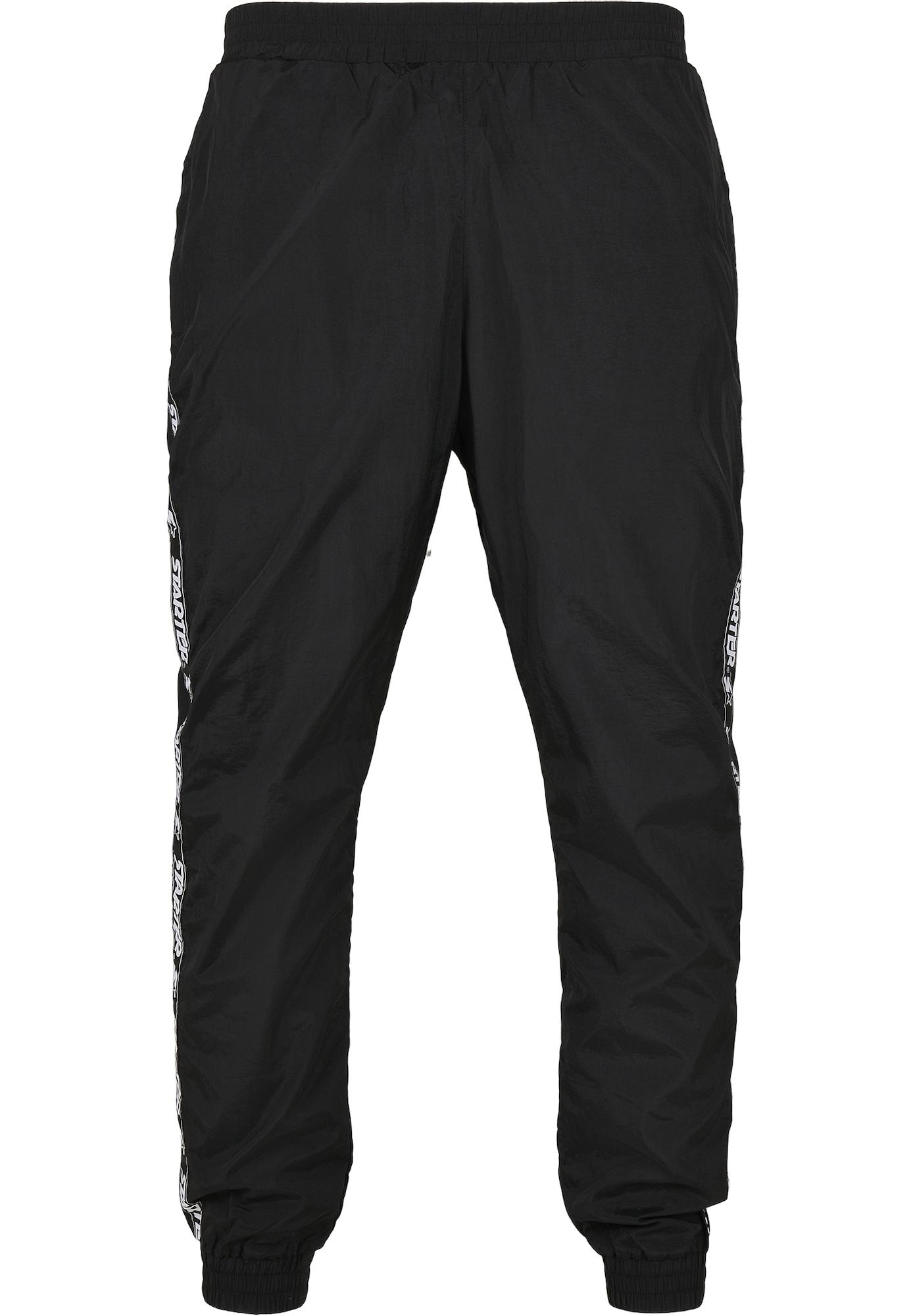 Starter Black Label Kelnės juoda / balta