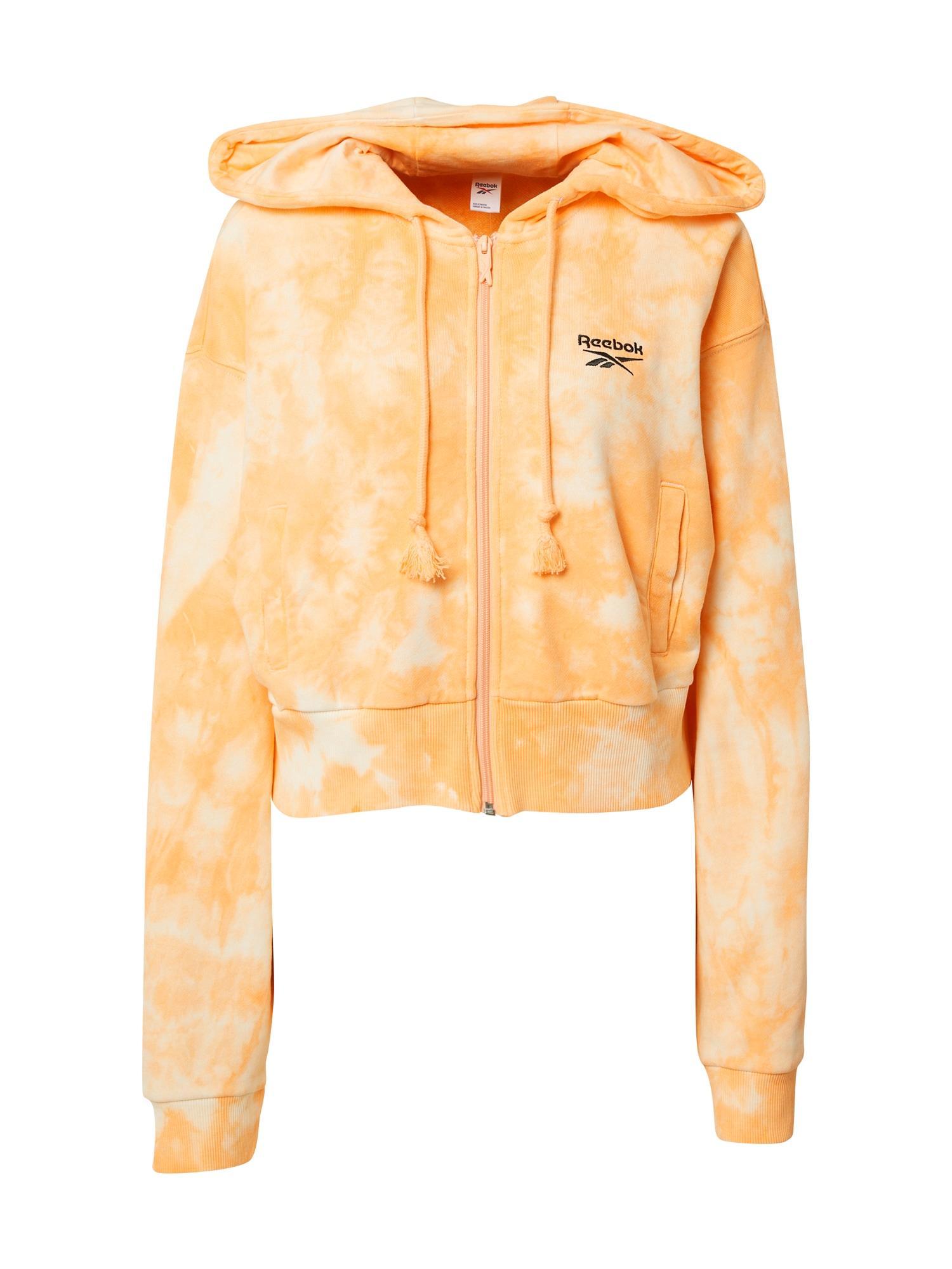 Reebok Classics Džemperis oranžinė / kremo / juoda