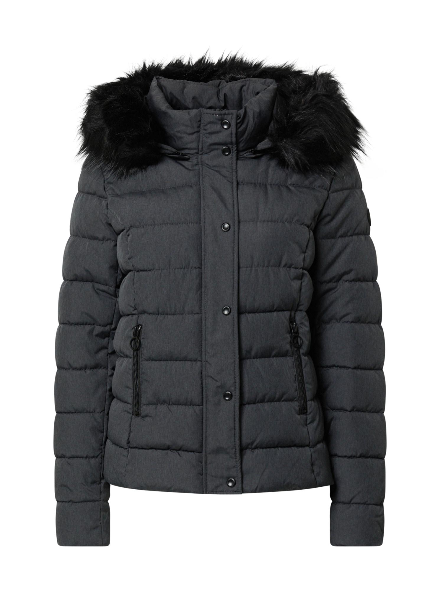 ONLY Zimní bunda  tmavě šedá