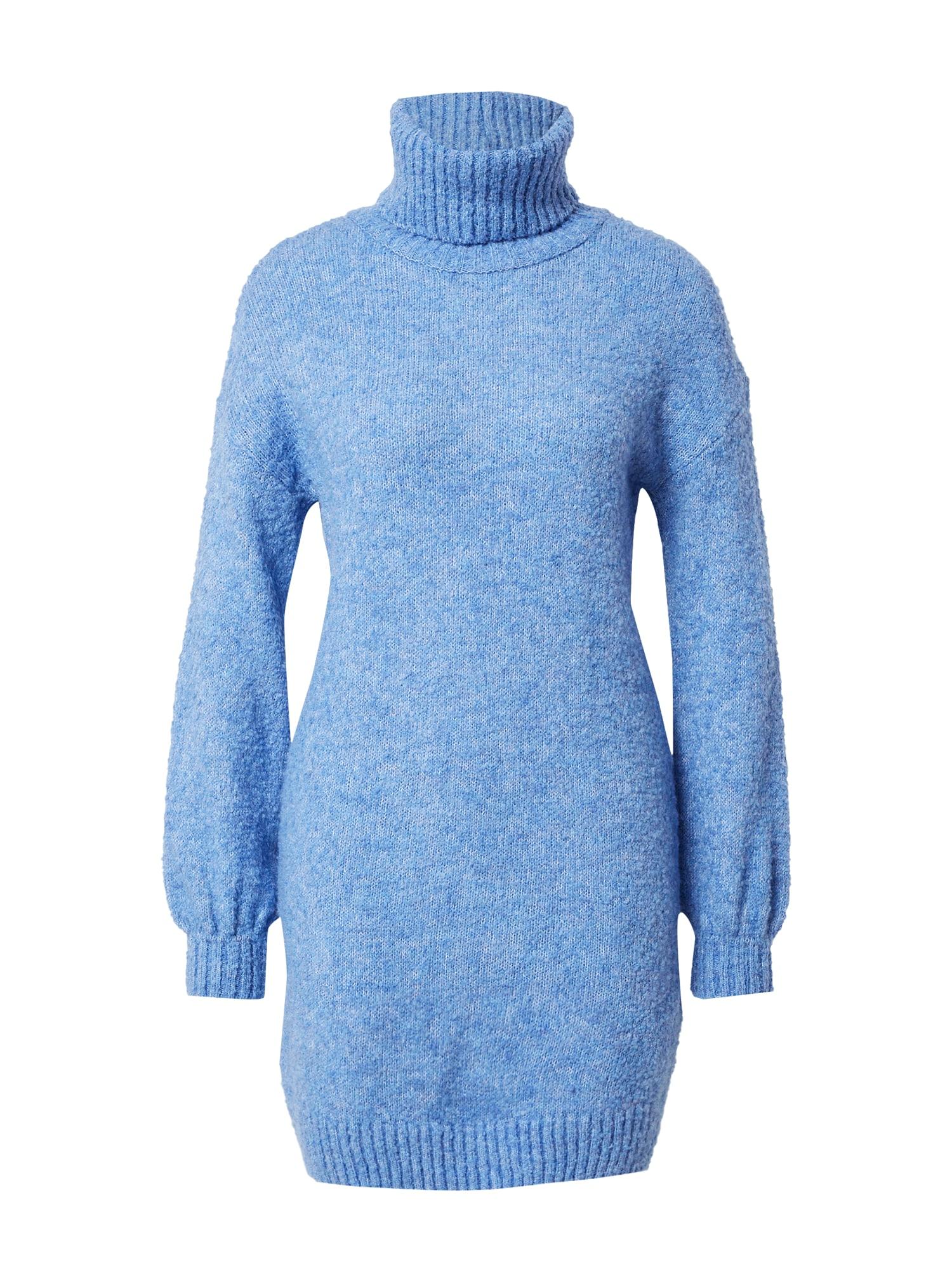Tally Weijl Megzta suknelė margai mėlyna