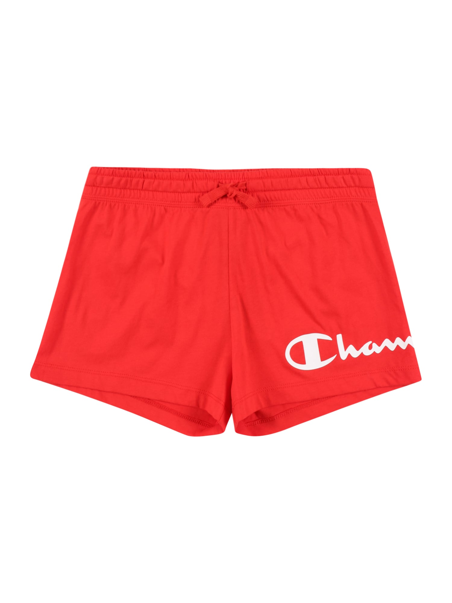 Champion Authentic Athletic Apparel Kelnės raudona / balta
