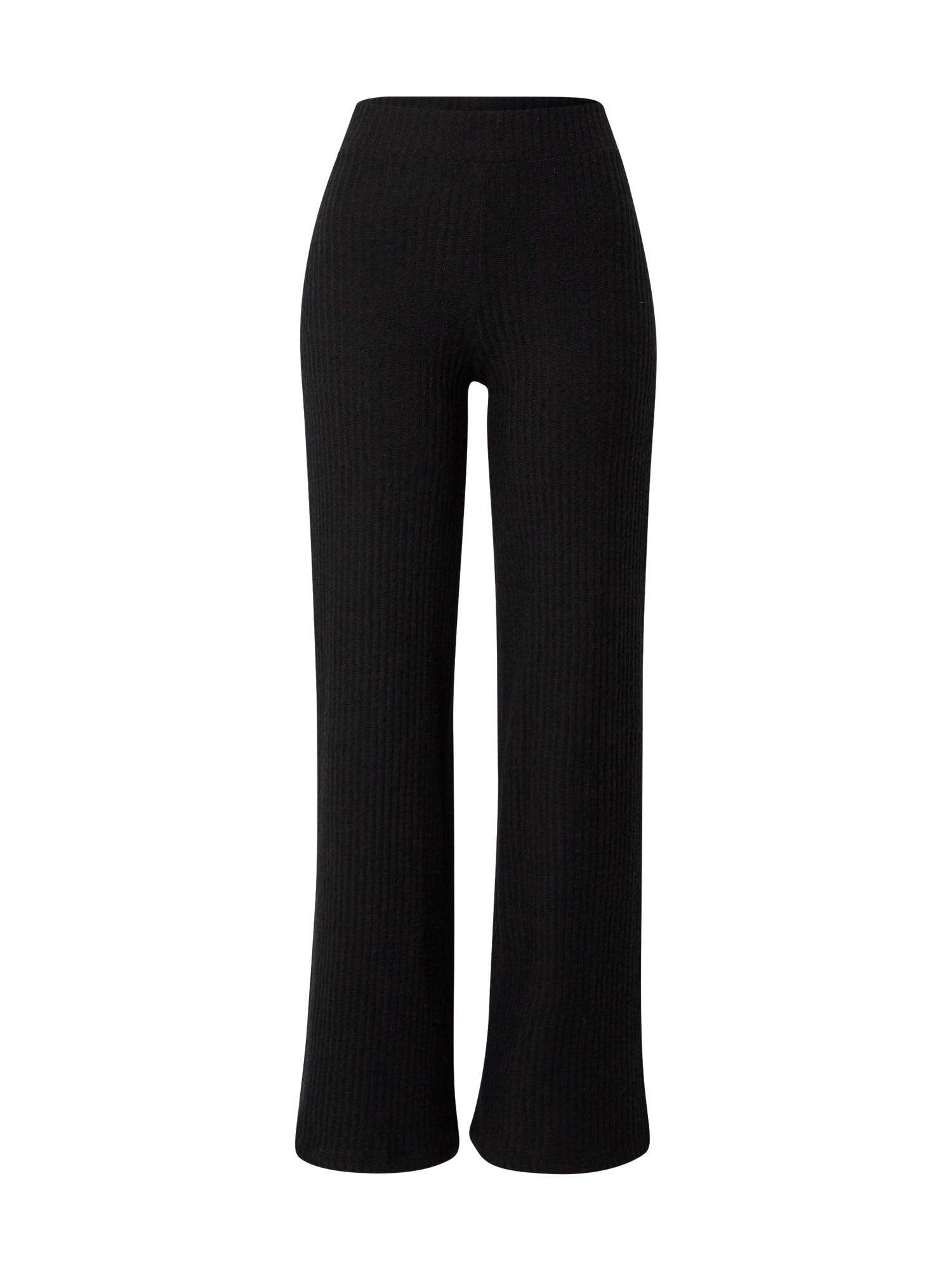 Gina Tricot Kelnės 'Kinsley' juoda