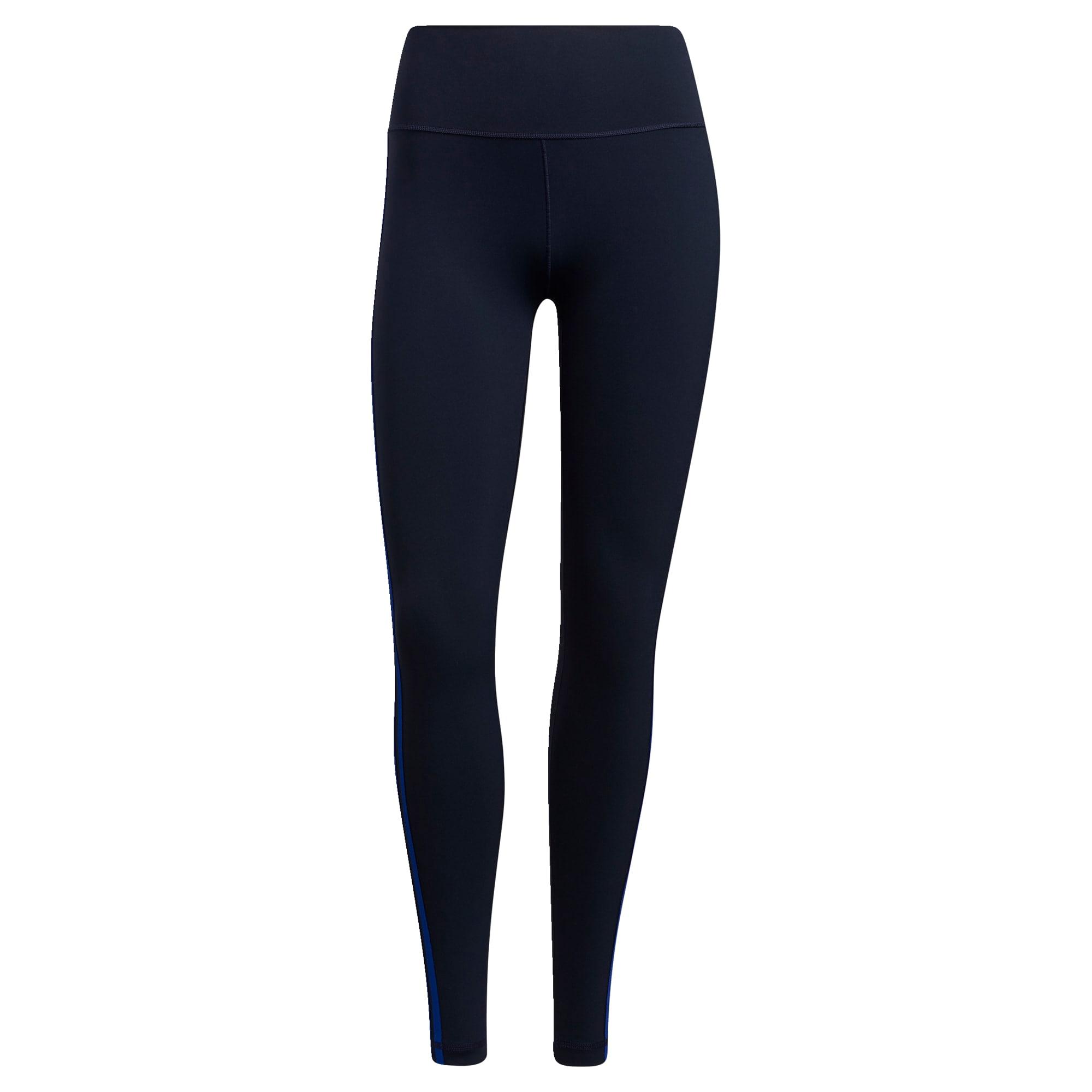 ADIDAS PERFORMANCE Sportovní kalhoty  tmavě modrá / modrá