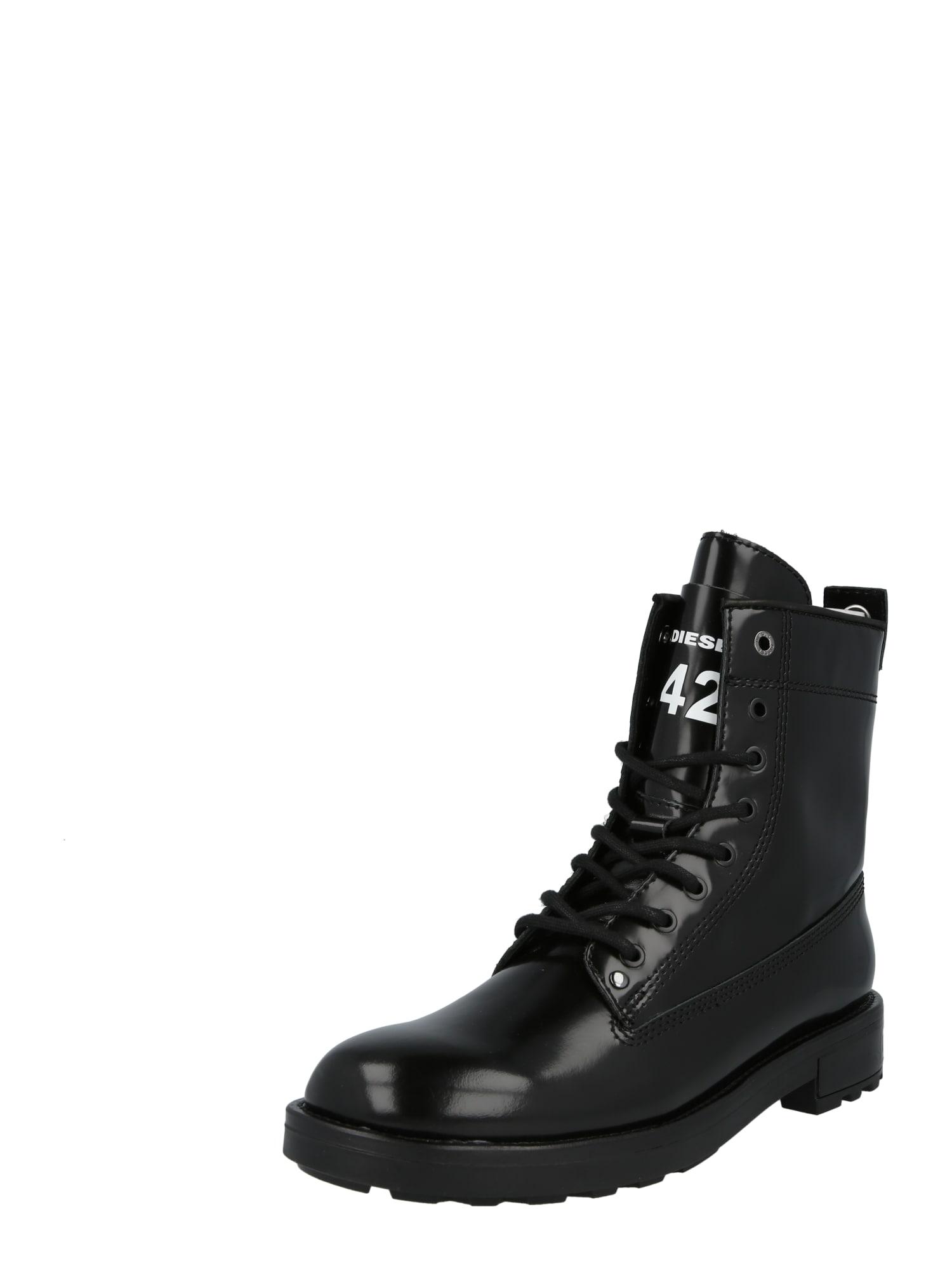 DIESEL Auliniai batai su raišteliais