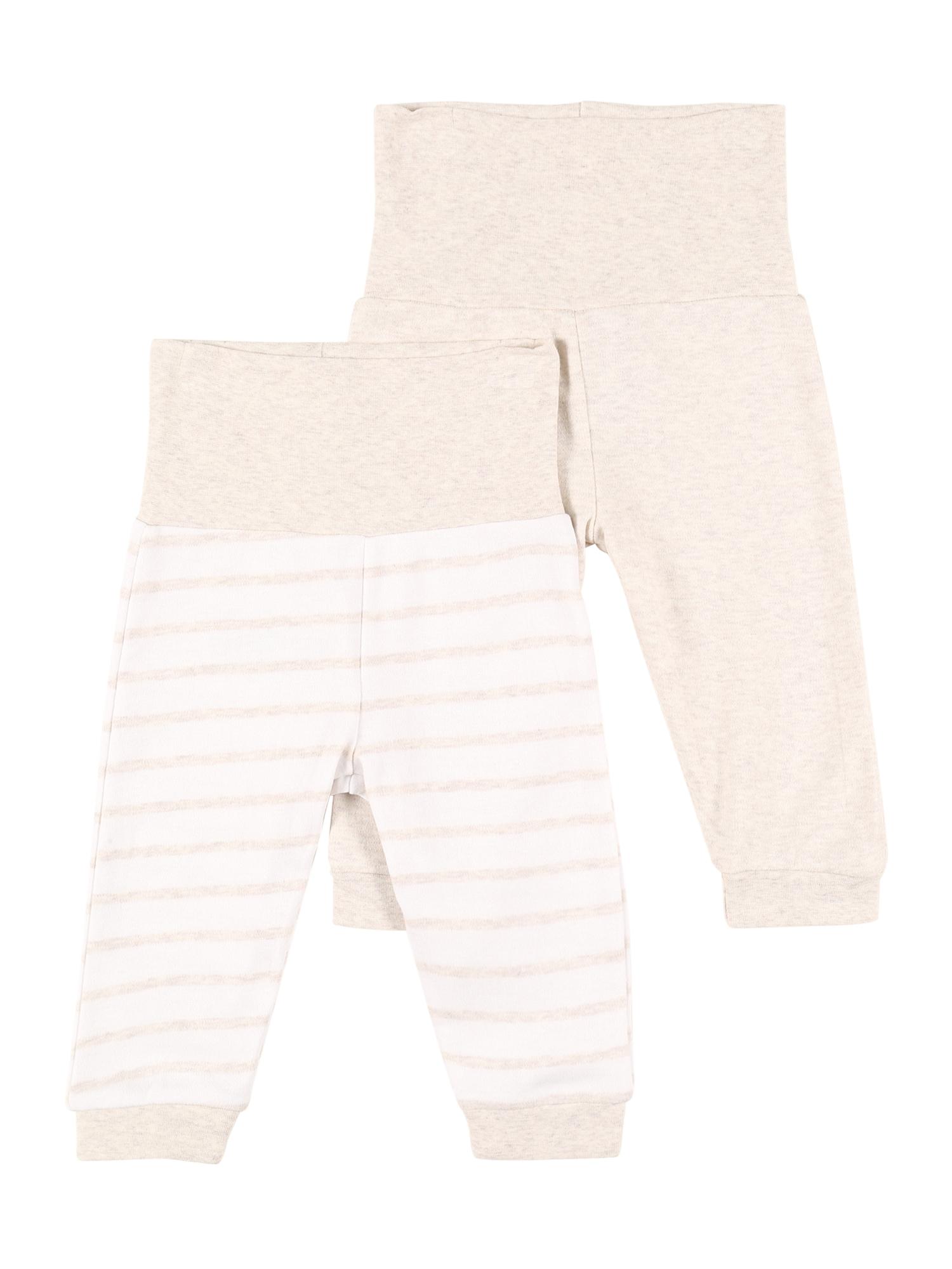 JACKY Kelnės balta / smėlio spalva