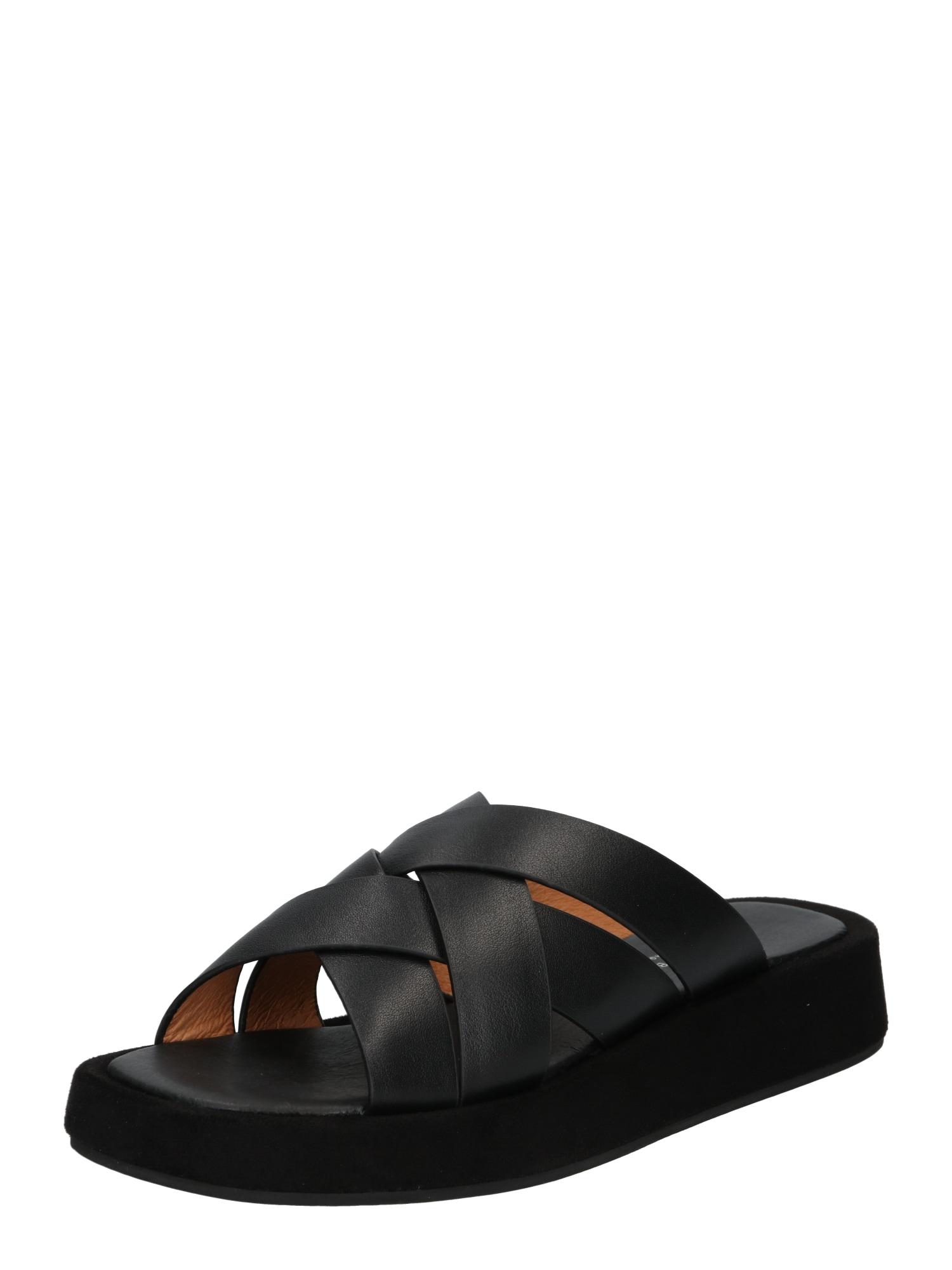 Shoe The Bear Pantofle 'Astrid Mule'  černá