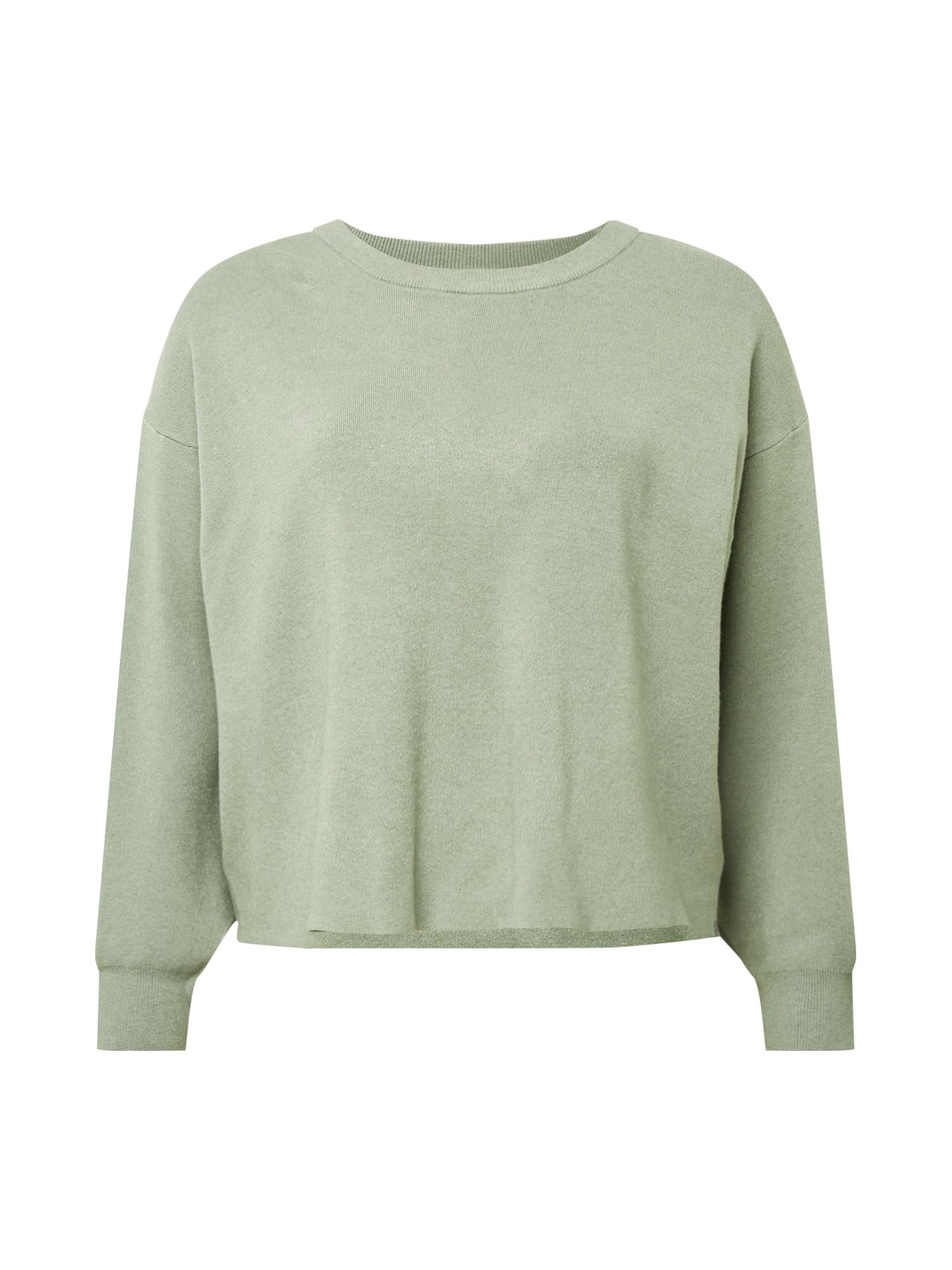Cotton On Curve Megztinis 'CHLOE' šviesiai žalia