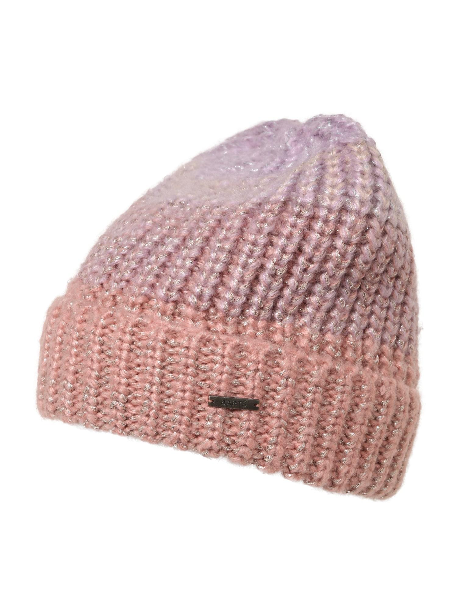 Barts Megzta kepurė rožinė