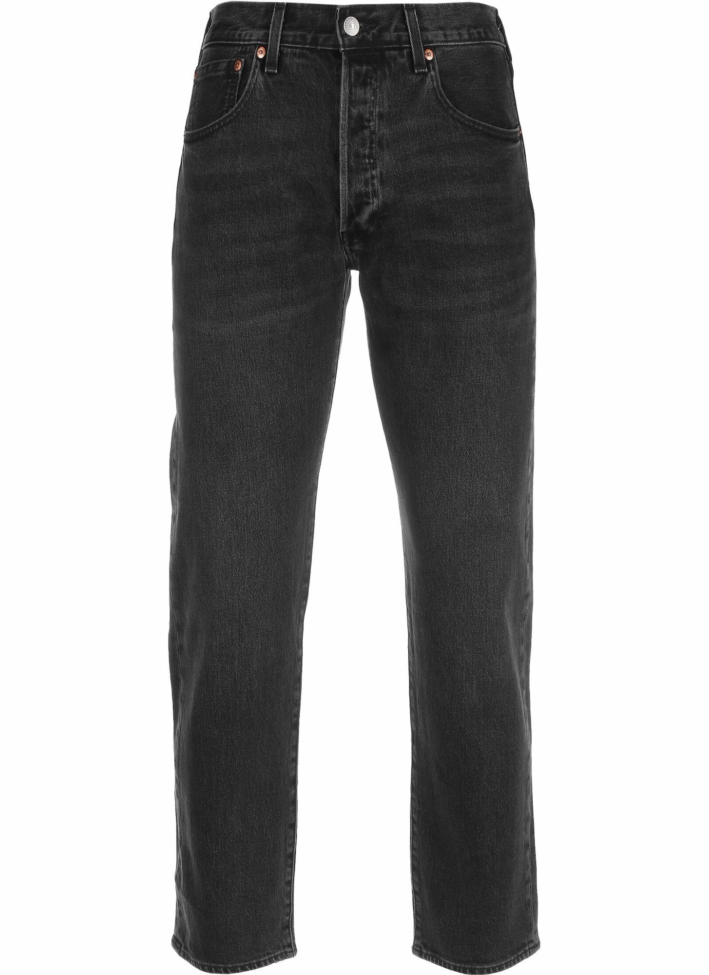 LEVI'S Džíny '501 93 Crop'  černá