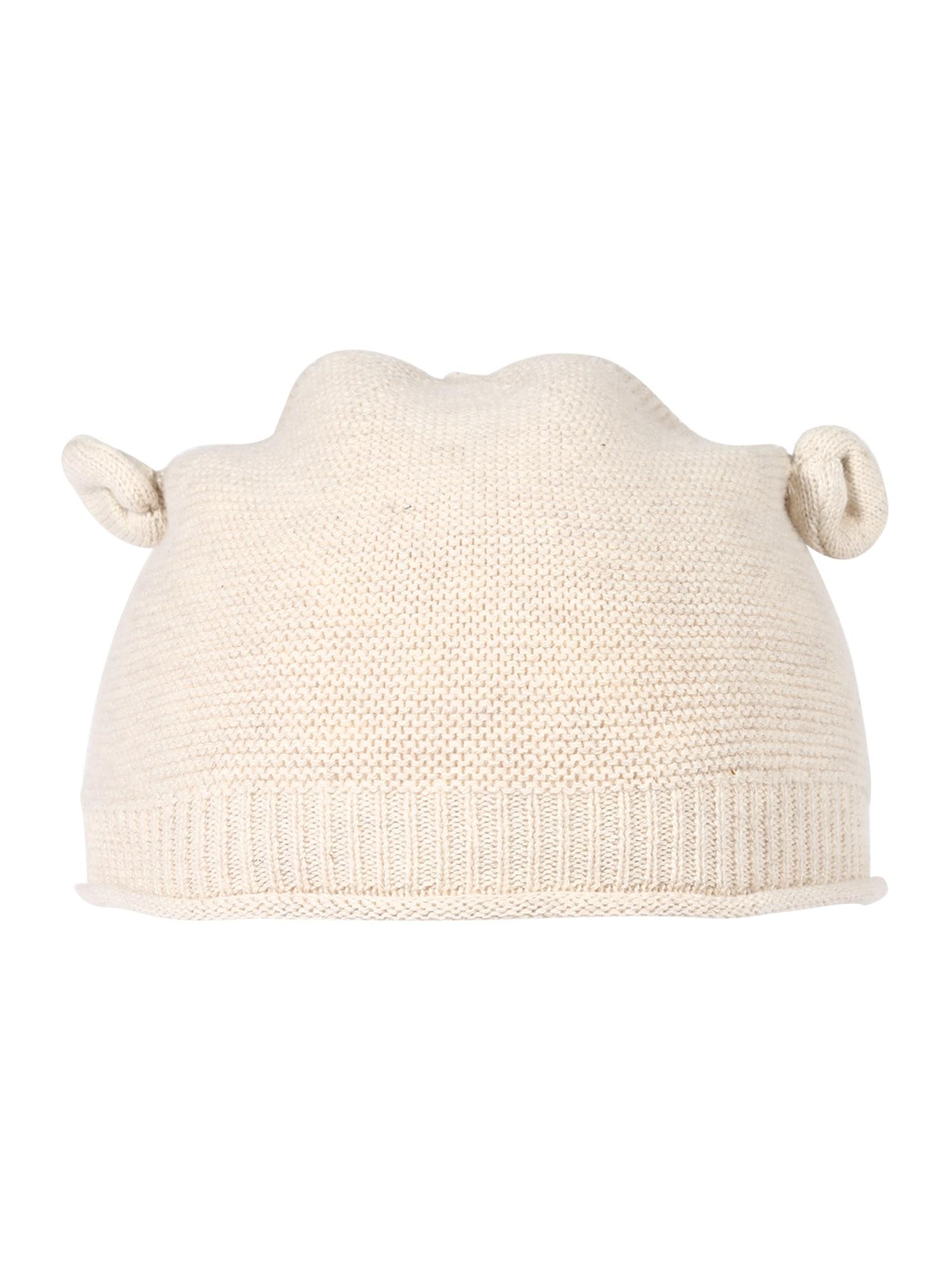Hust & Claire Megzta kepurė 'Feri' smėlio spalva