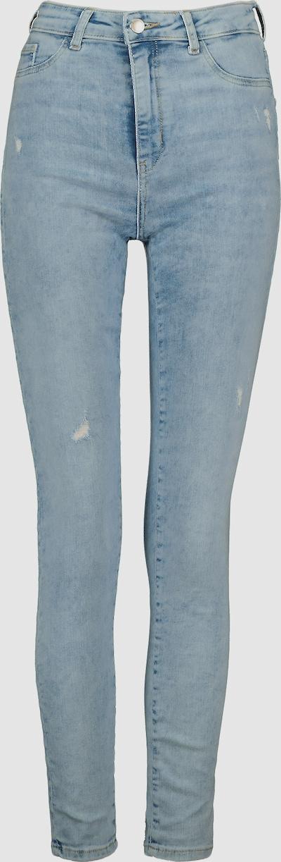 High Waist Super Skinny Jeggings mit Fake-Taschen auf der Vorderseite, um ein echtes Jeans-Gefühl zu vermitteln. Mit Power-Stretch für eine schmeichelhafte Silhouette sorgt unsere zeitlose Jeggings dafür, dass du dich in jeder Situation wohl und sexy fühlst.