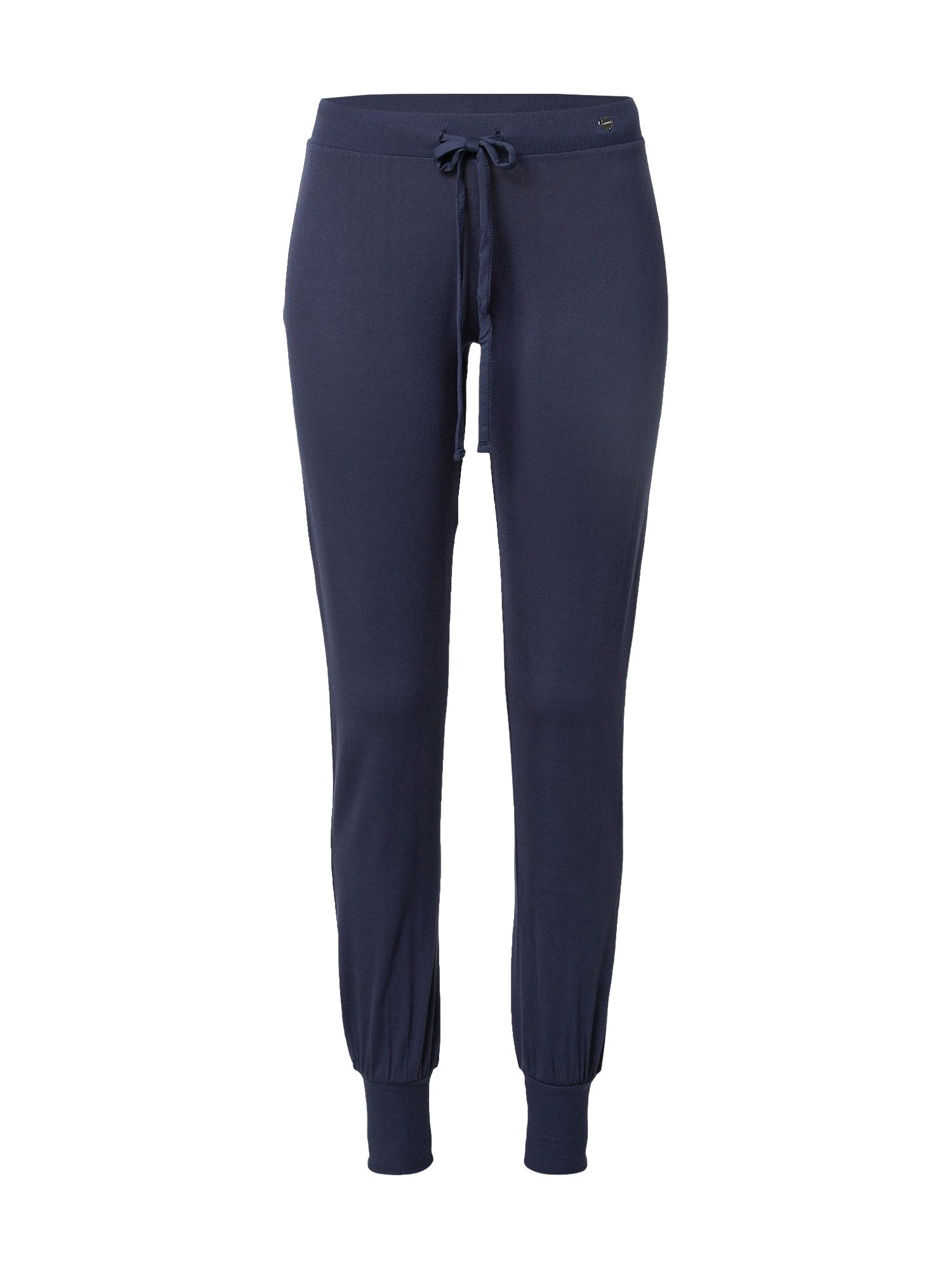 ESPRIT Pyžamové kalhoty 'Jayla'  námořnická modř