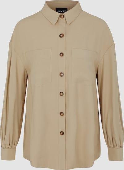 Pieces Elli Oversized Shirt mit langen Ärmeln