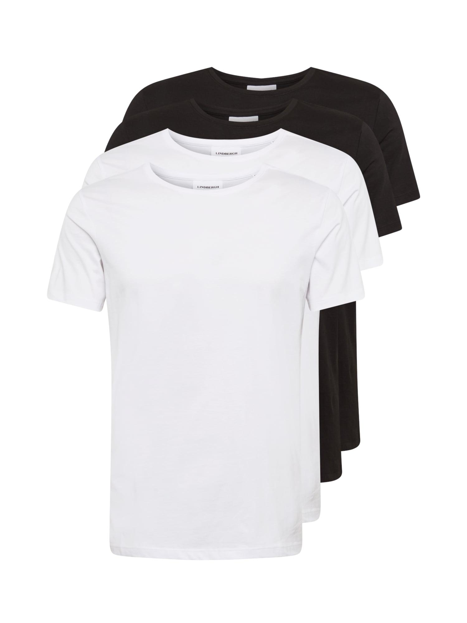 Lindbergh Marškinėliai balta / juoda