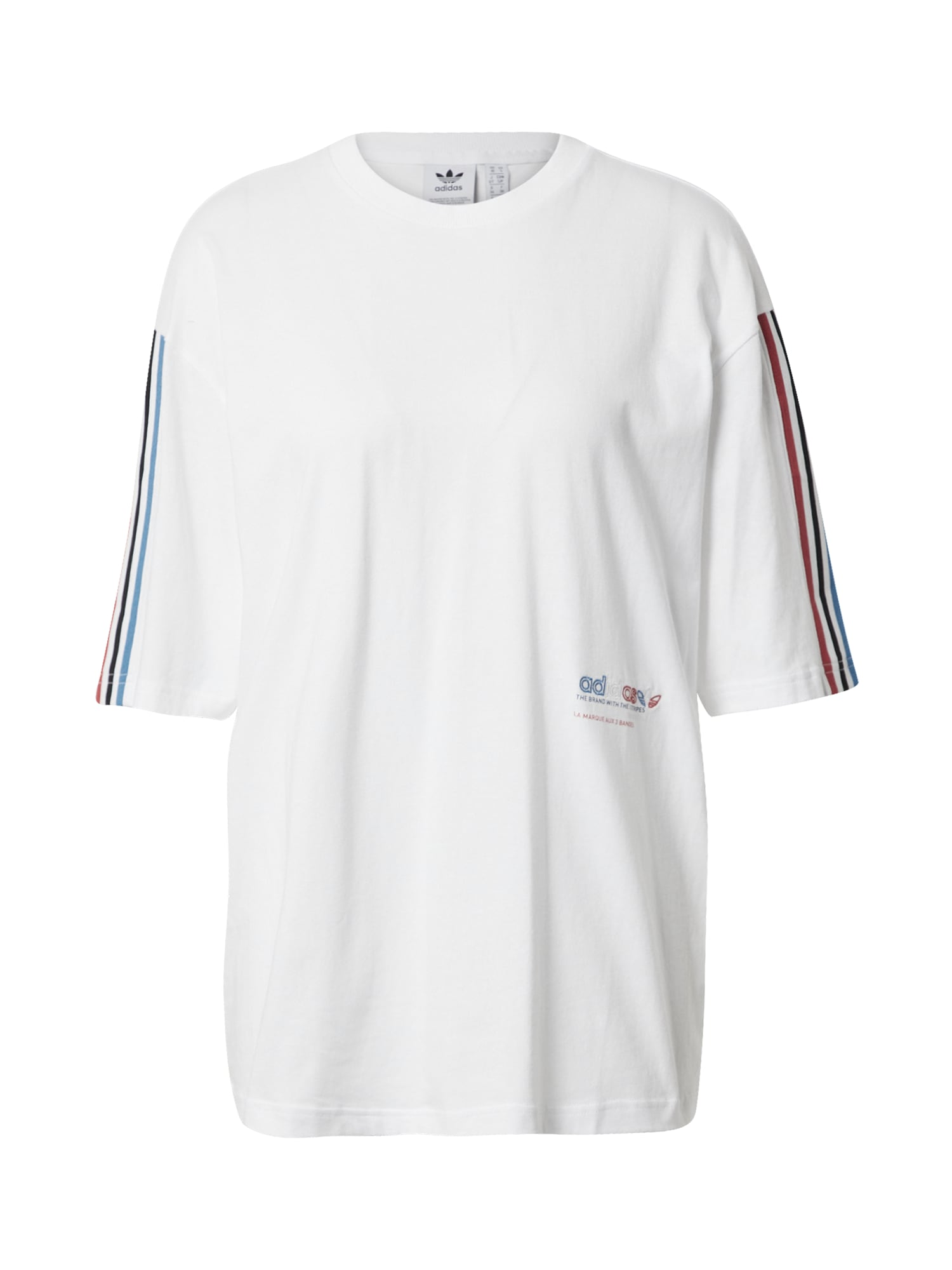 """ADIDAS ORIGINALS Marškinėliai balta / raudona / sodri mėlyna (""""karališka"""")"""