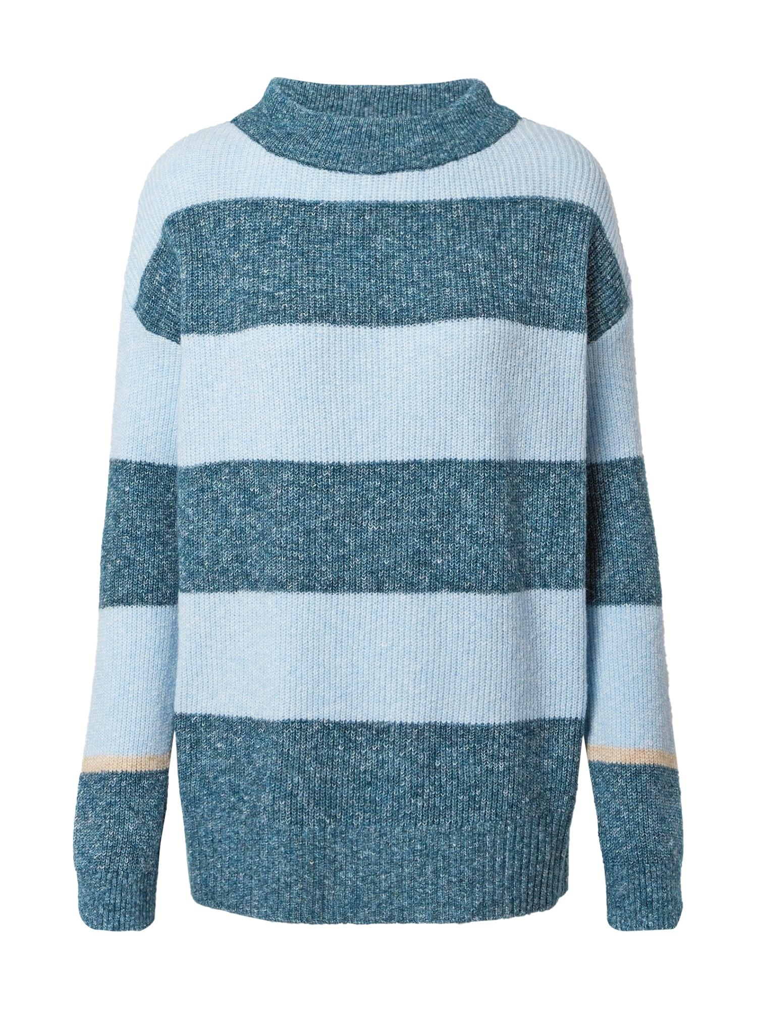 CECIL Megztinis margai mėlyna / smėlio