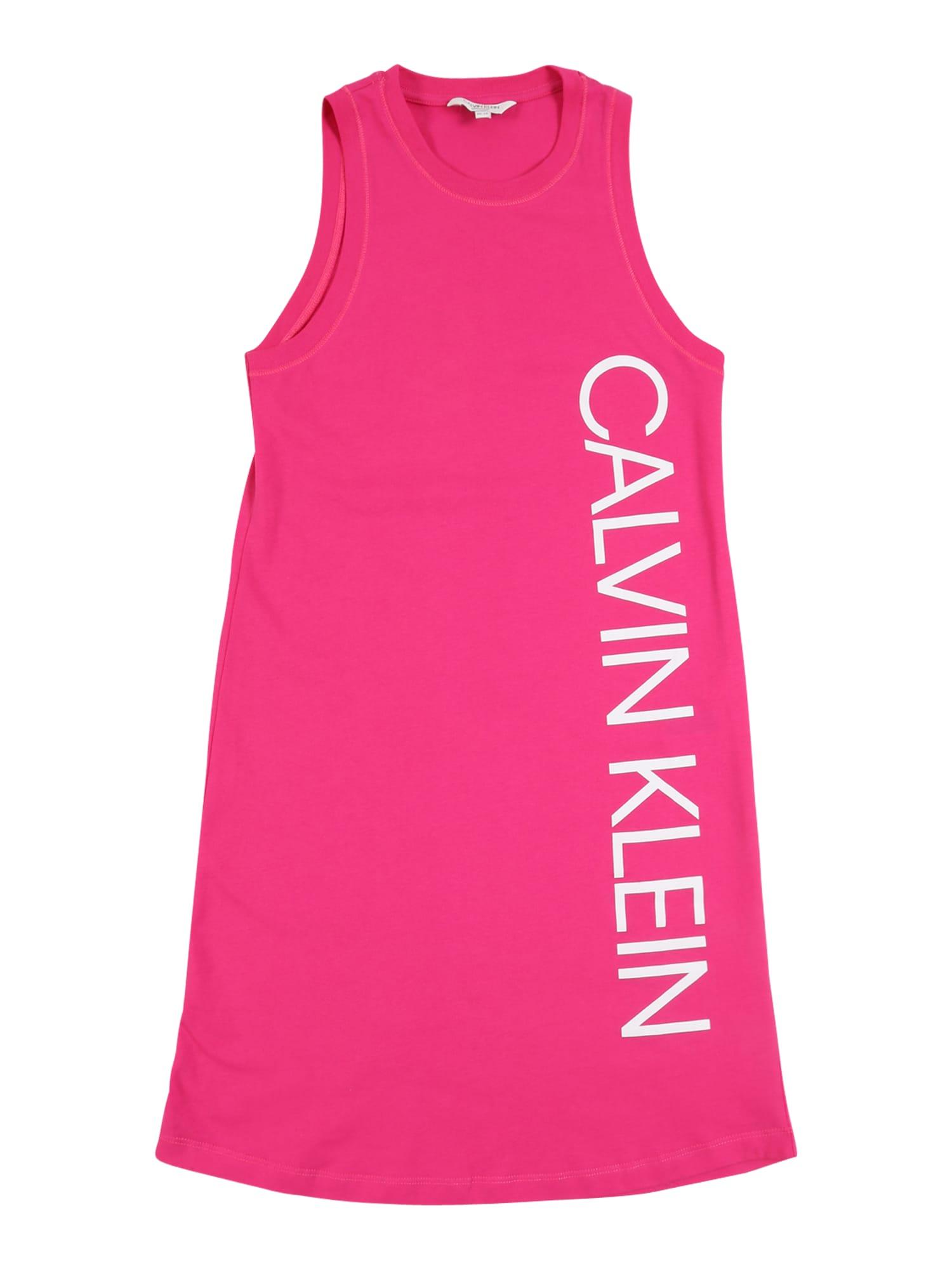 Calvin Klein Swimwear Suknelė 'TANK DRESS' rožinė