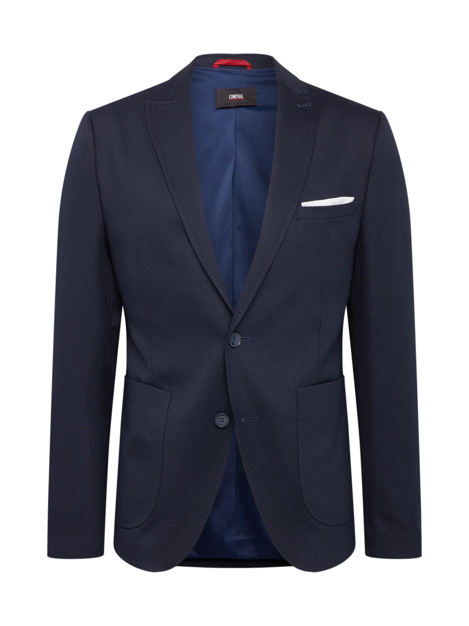 CINQUE Dalykinio stiliaus švarkas tamsiai mėlyna
