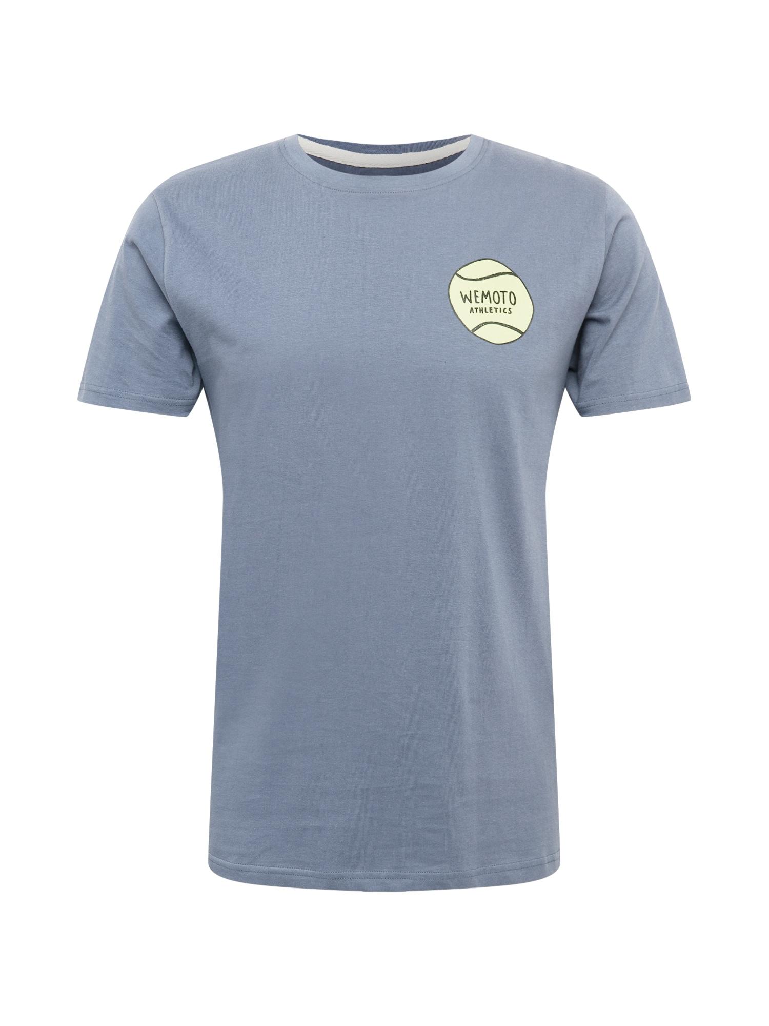 Wemoto Marškinėliai opalo / juoda / šviesiai žalia