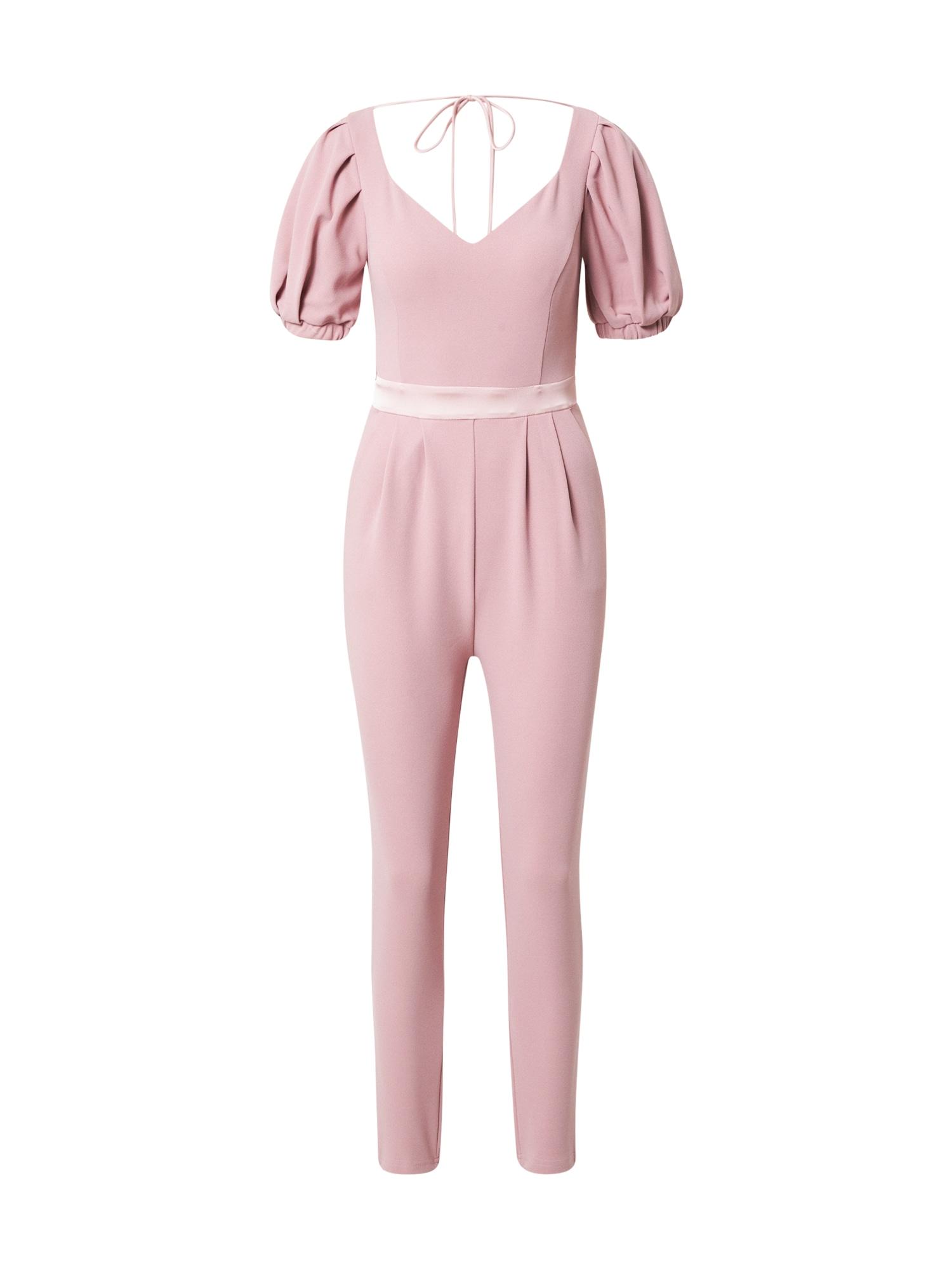Skirt & Stiletto Vienos dalies kostiumas ryškiai rožinė spalva