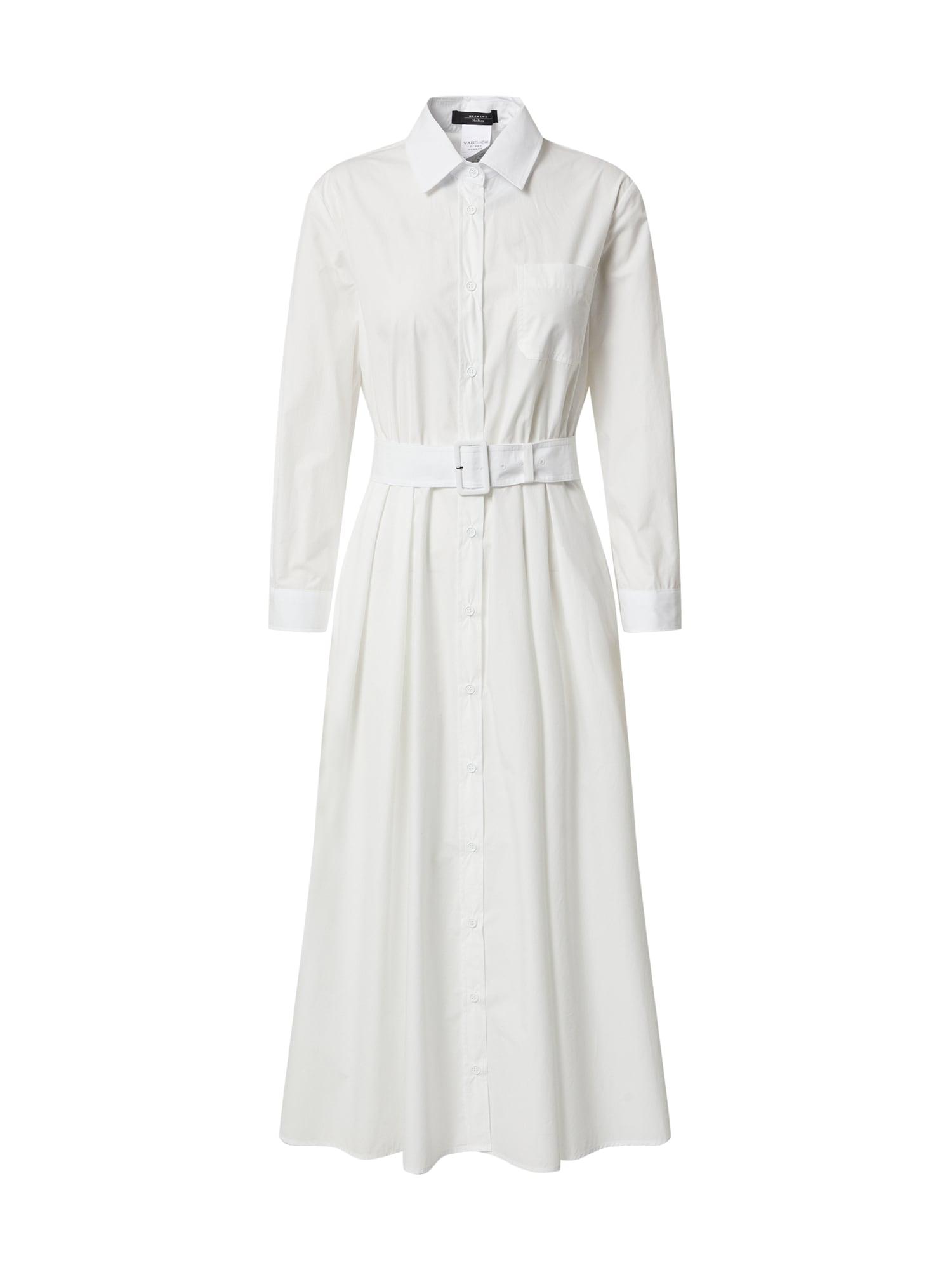 Weekend Max Mara Palaidinės tipo suknelė balta