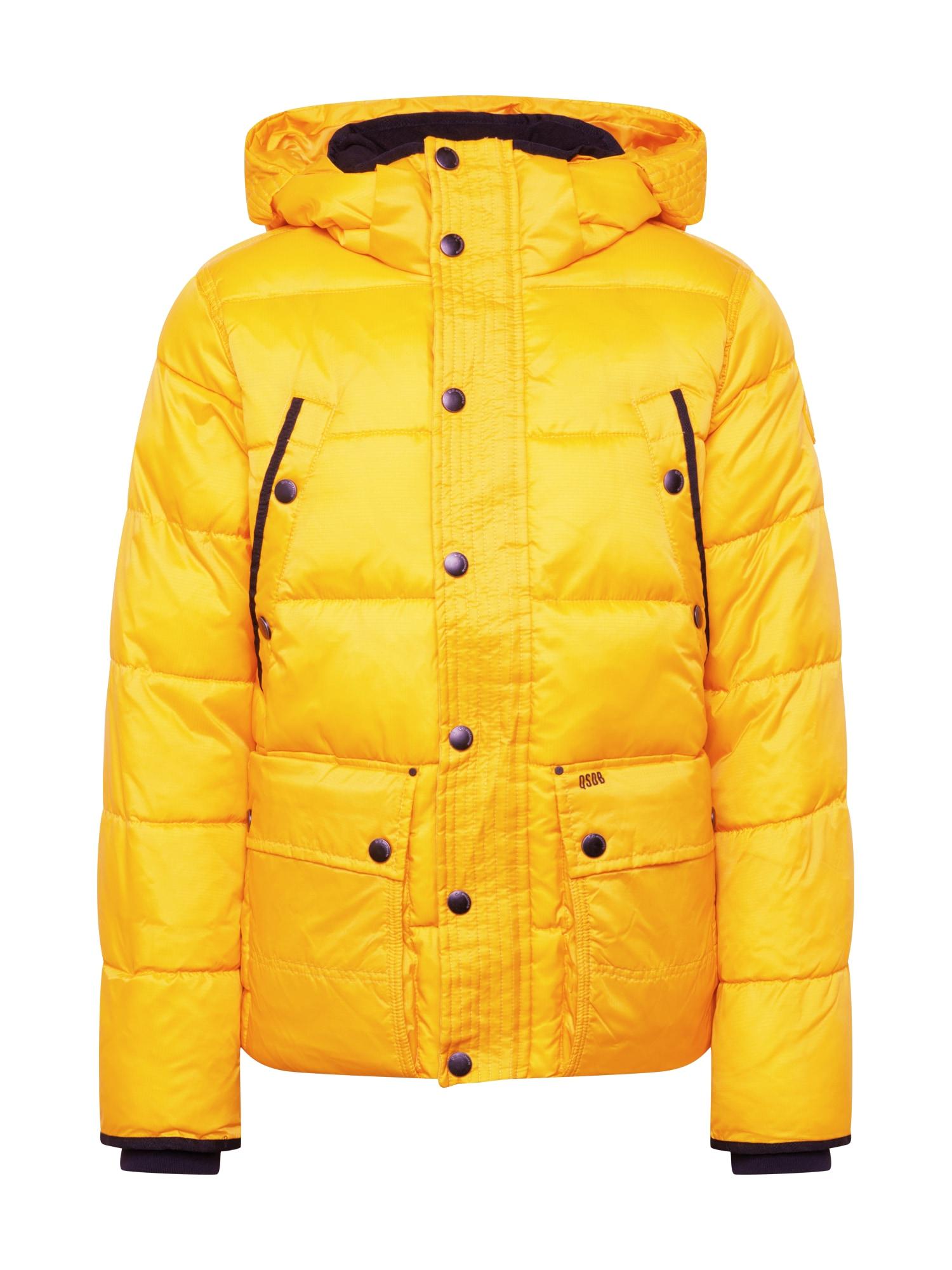 Q/S designed by Přechodná bunda  žlutá