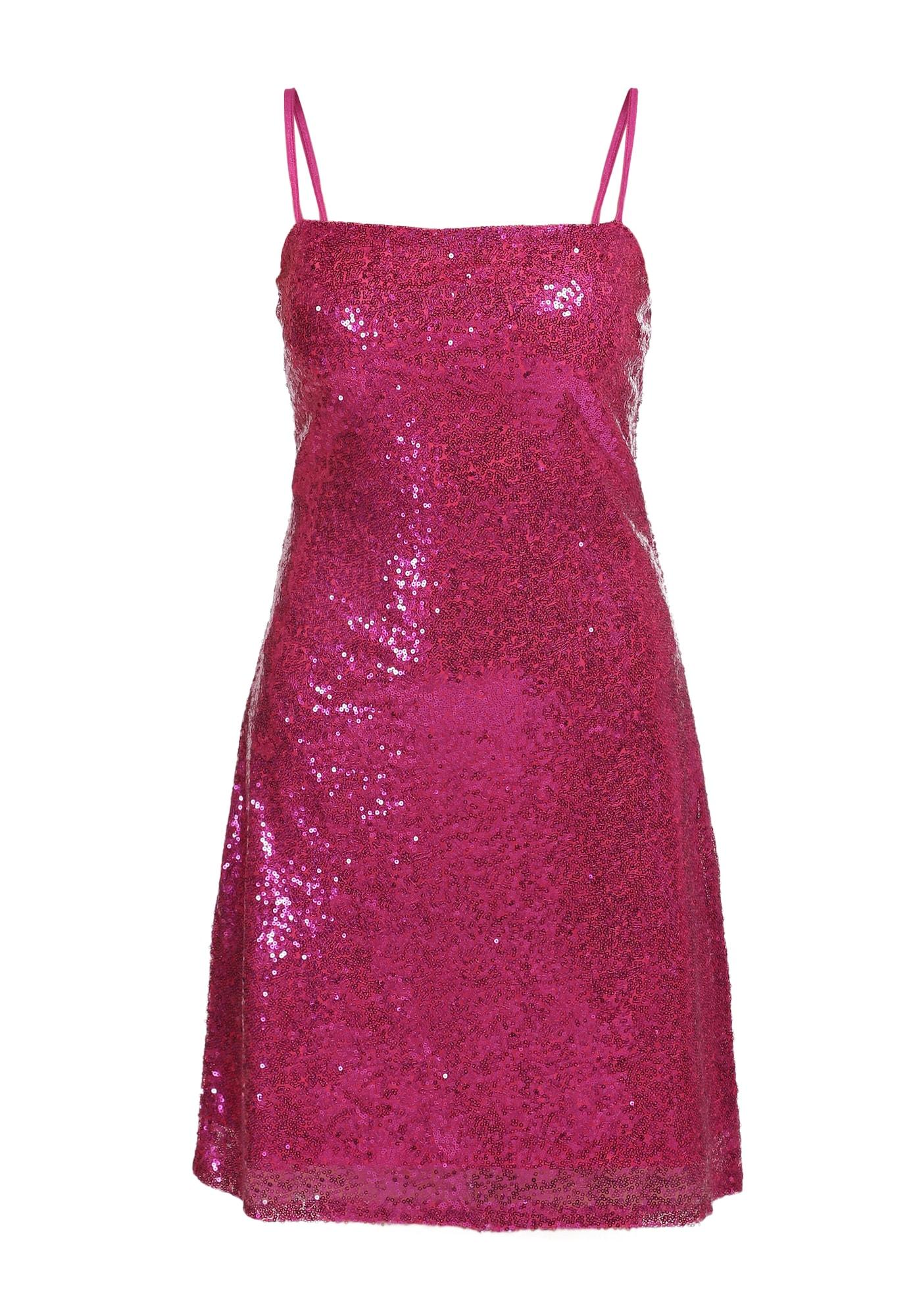 myMo at night Kokteilinė suknelė tamsiai rožinė
