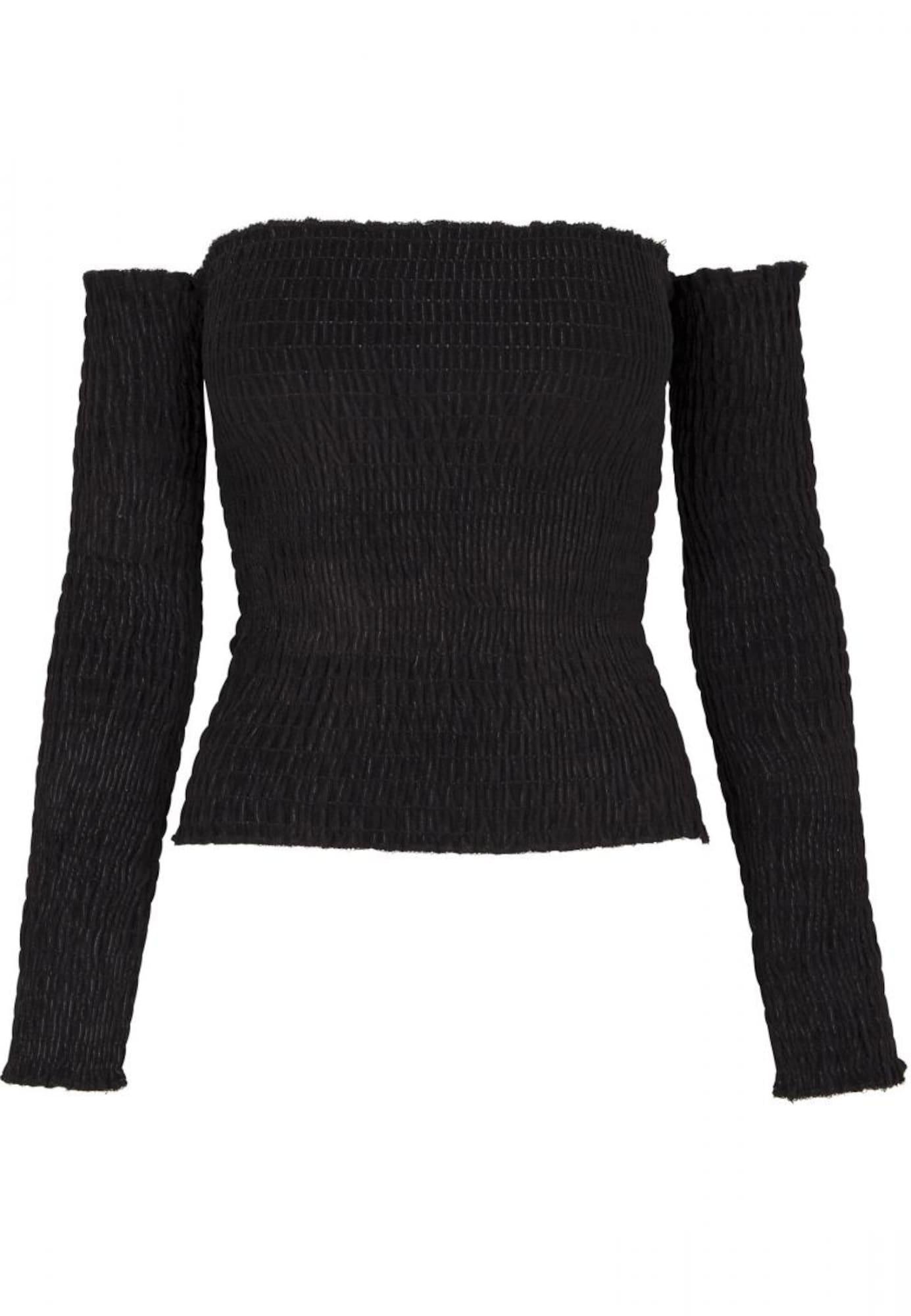 Urban Classics Curvy Marškinėliai juoda