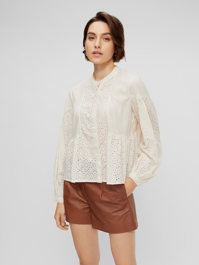 Y.A.S Frimore Broderie Anglaise Langarmhemd