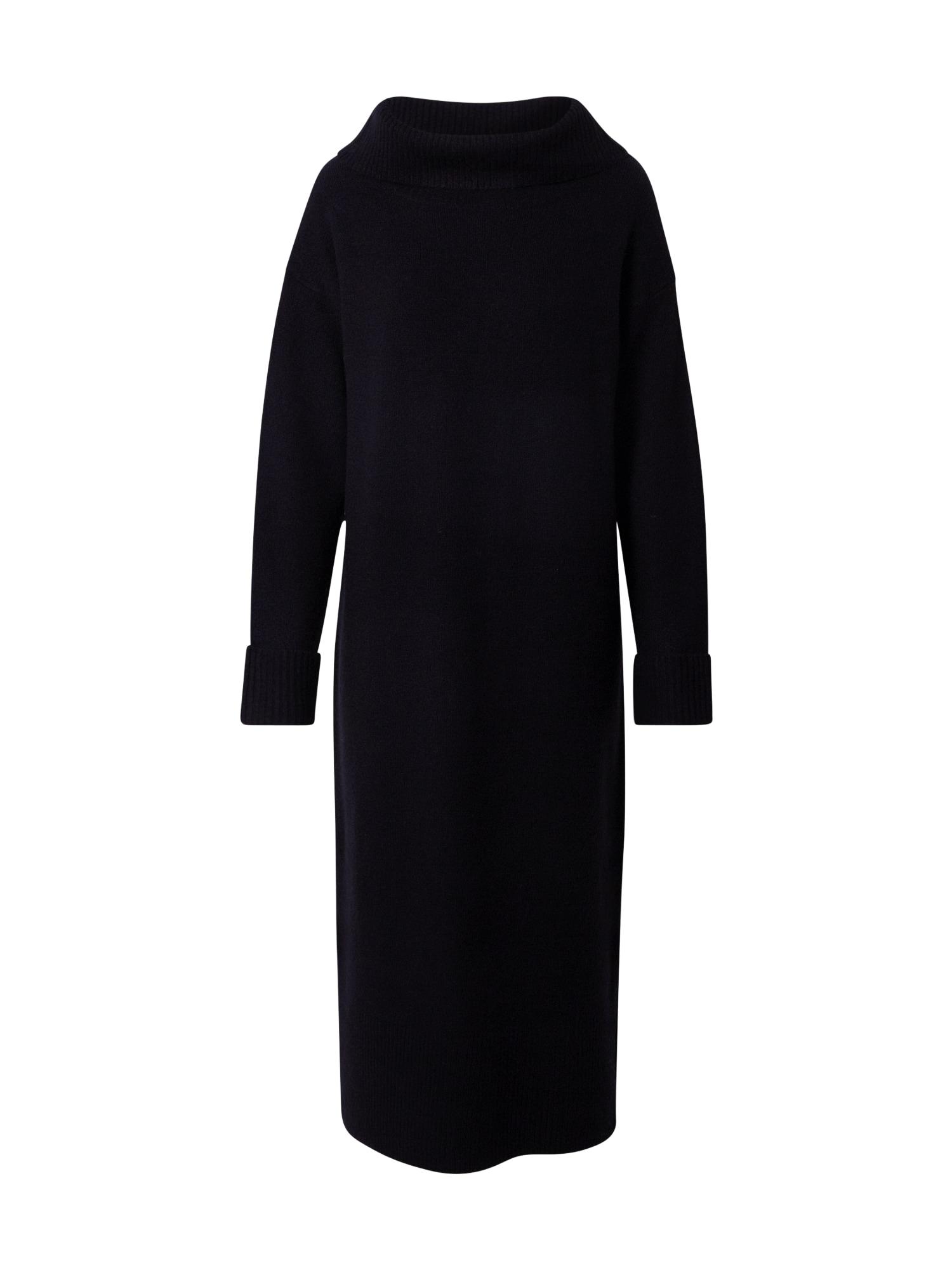 ESPRIT Megzta suknelė juoda