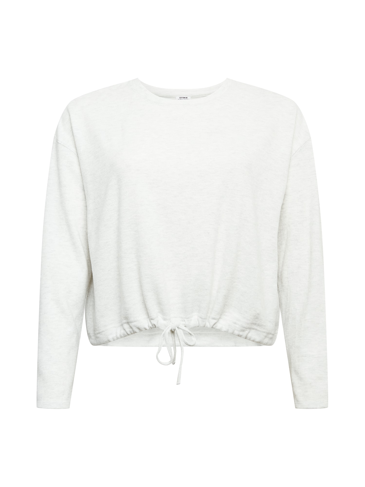 Cotton On Curve Marškinėliai šviesiai pilka