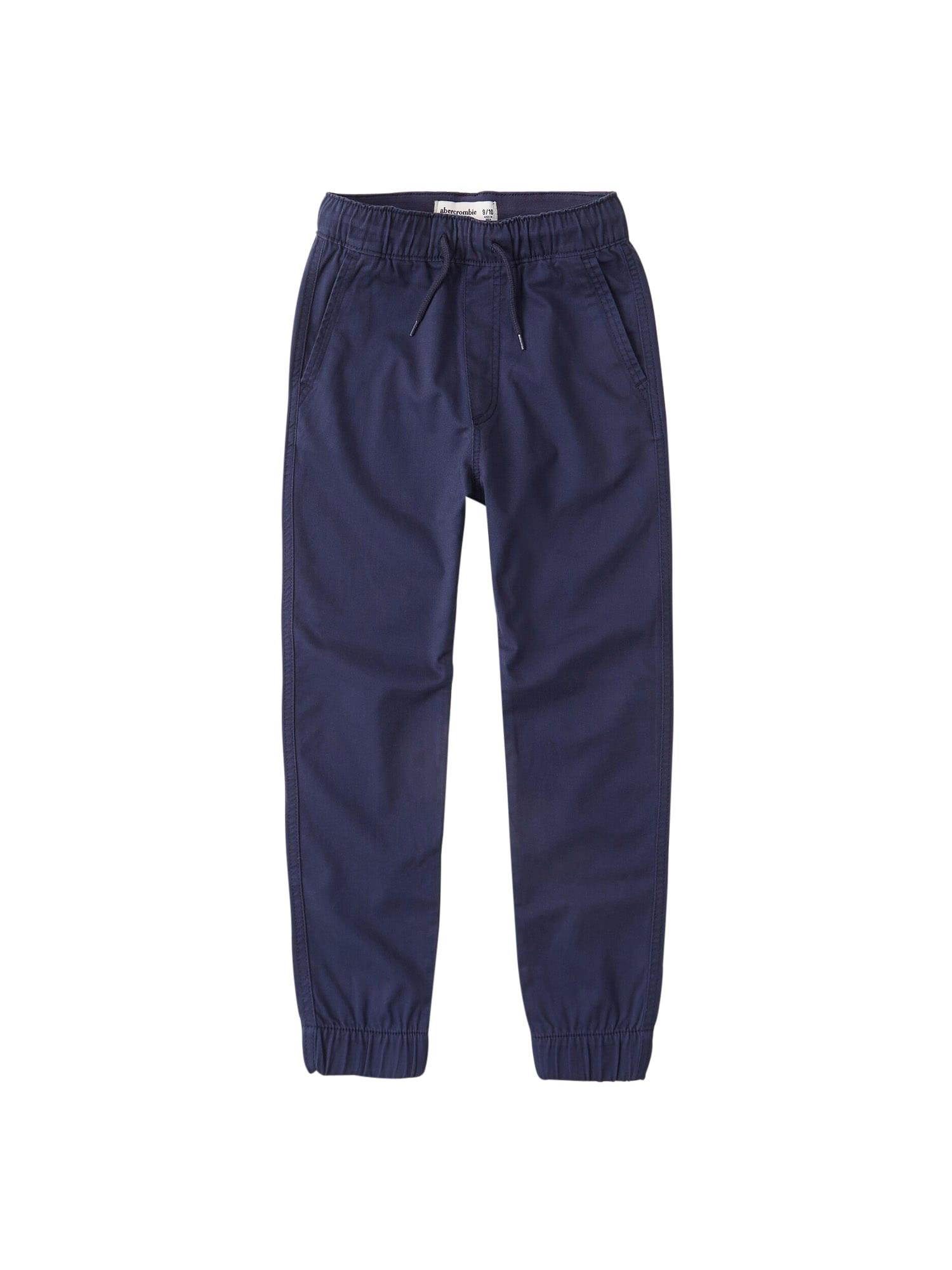 Abercrombie & Fitch Kelnės tamsiai mėlyna