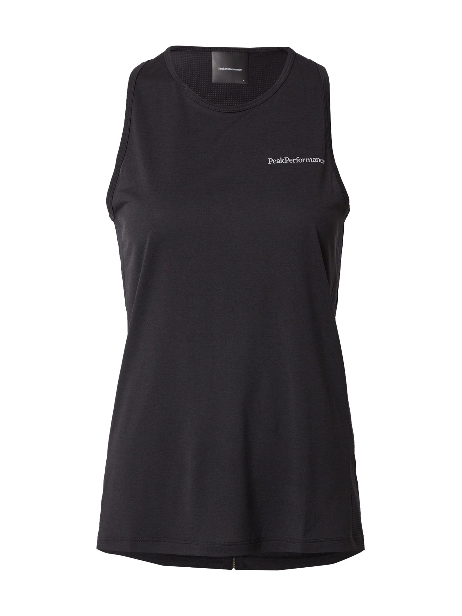 PEAK PERFORMANCE Sportiniai marškinėliai be rankovių juoda