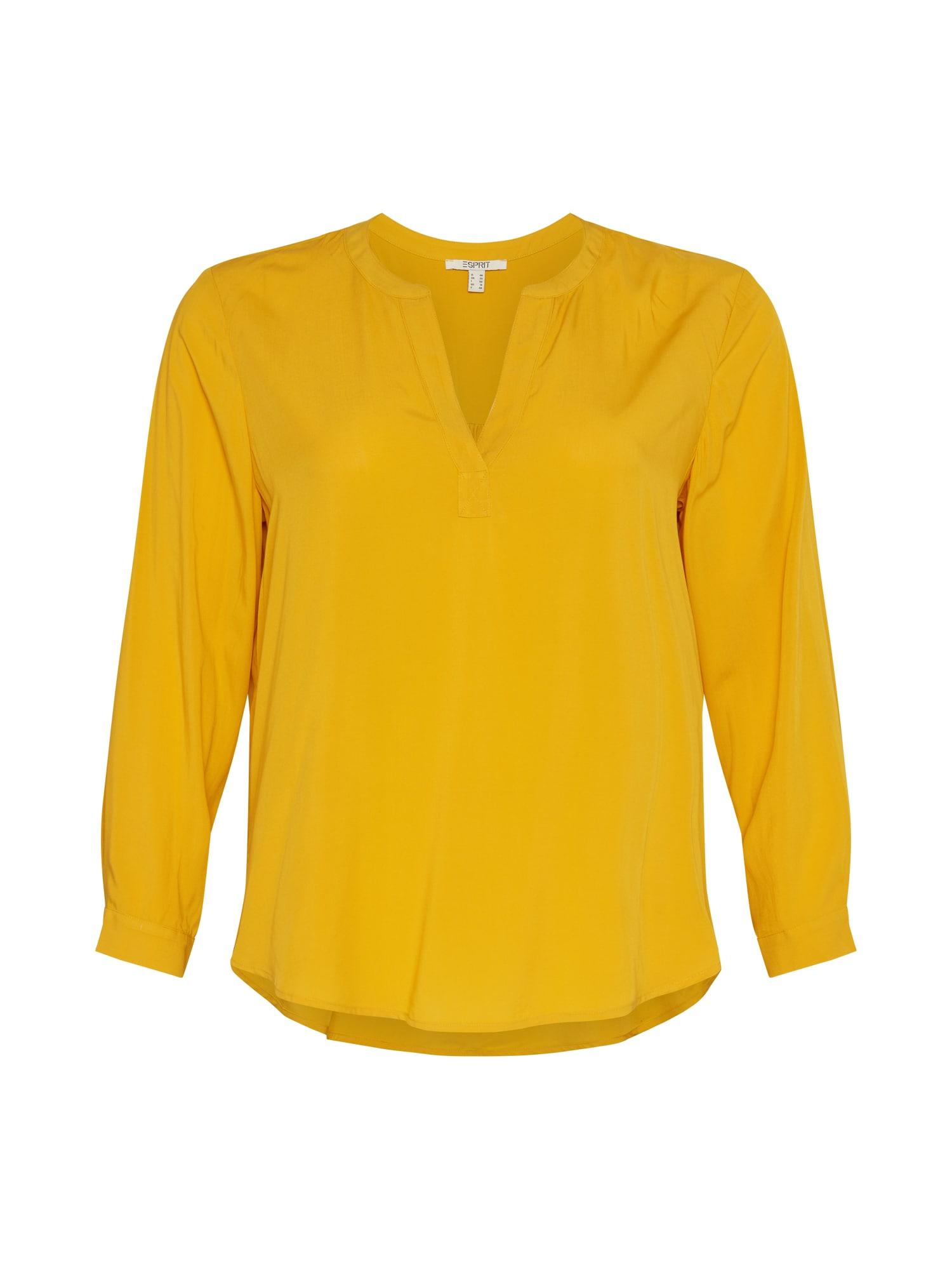 Esprit Curves Halenka  žlutá