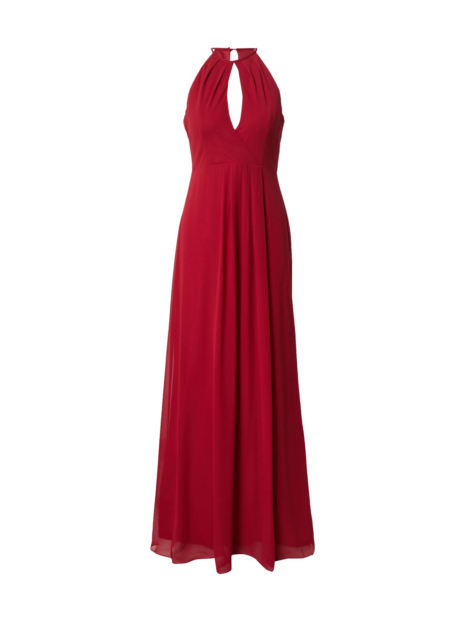 STAR NIGHT Vakarinė suknelė karmino raudona