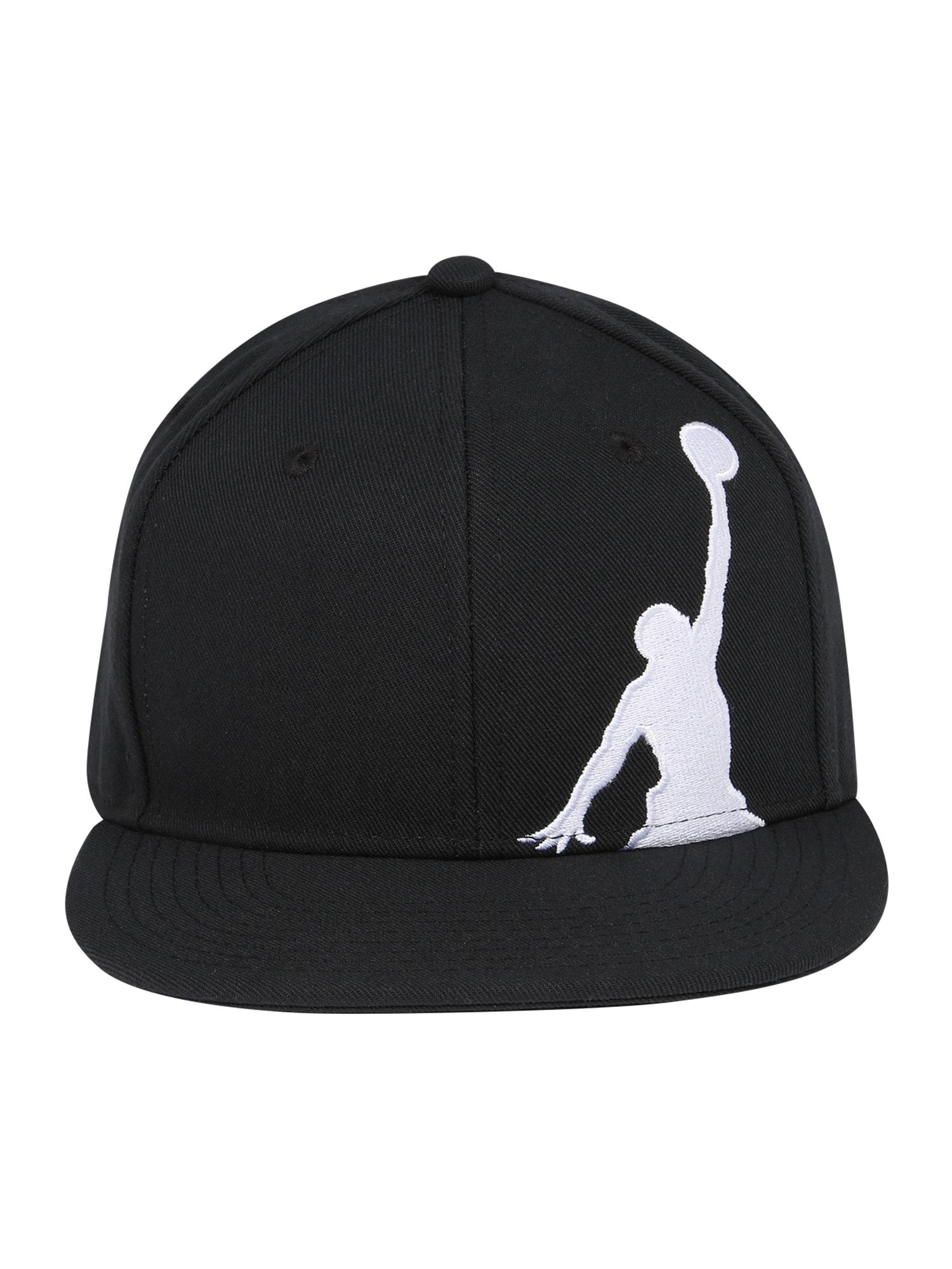 Jordan Skrybėlaitė juoda / balta