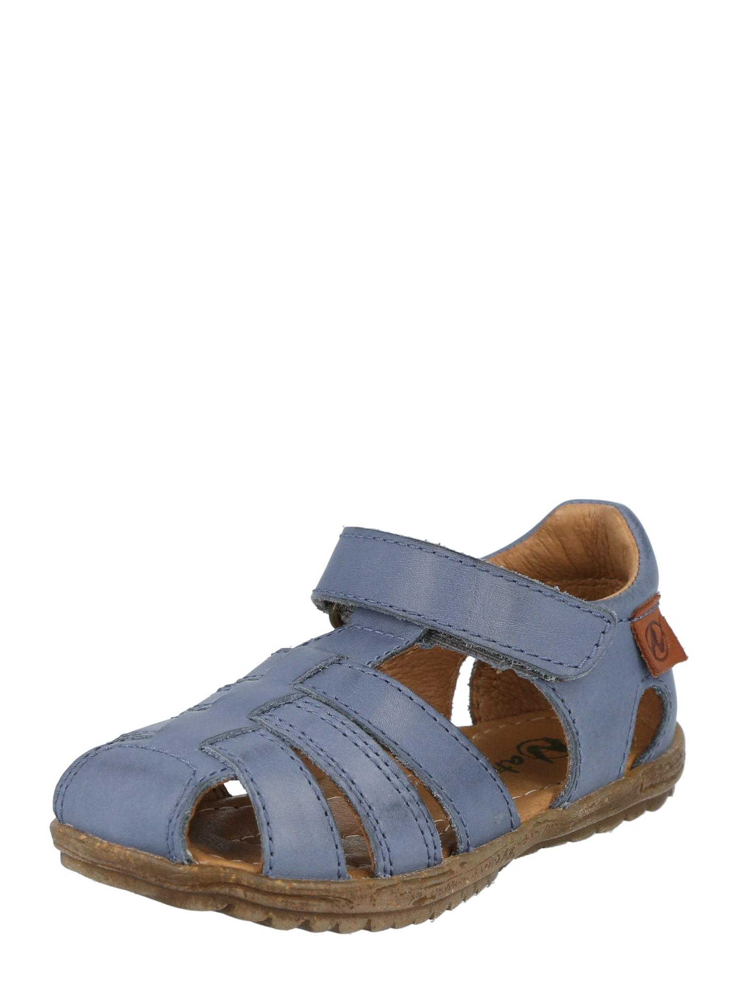 NATURINO Atviri batai melsvai pilka