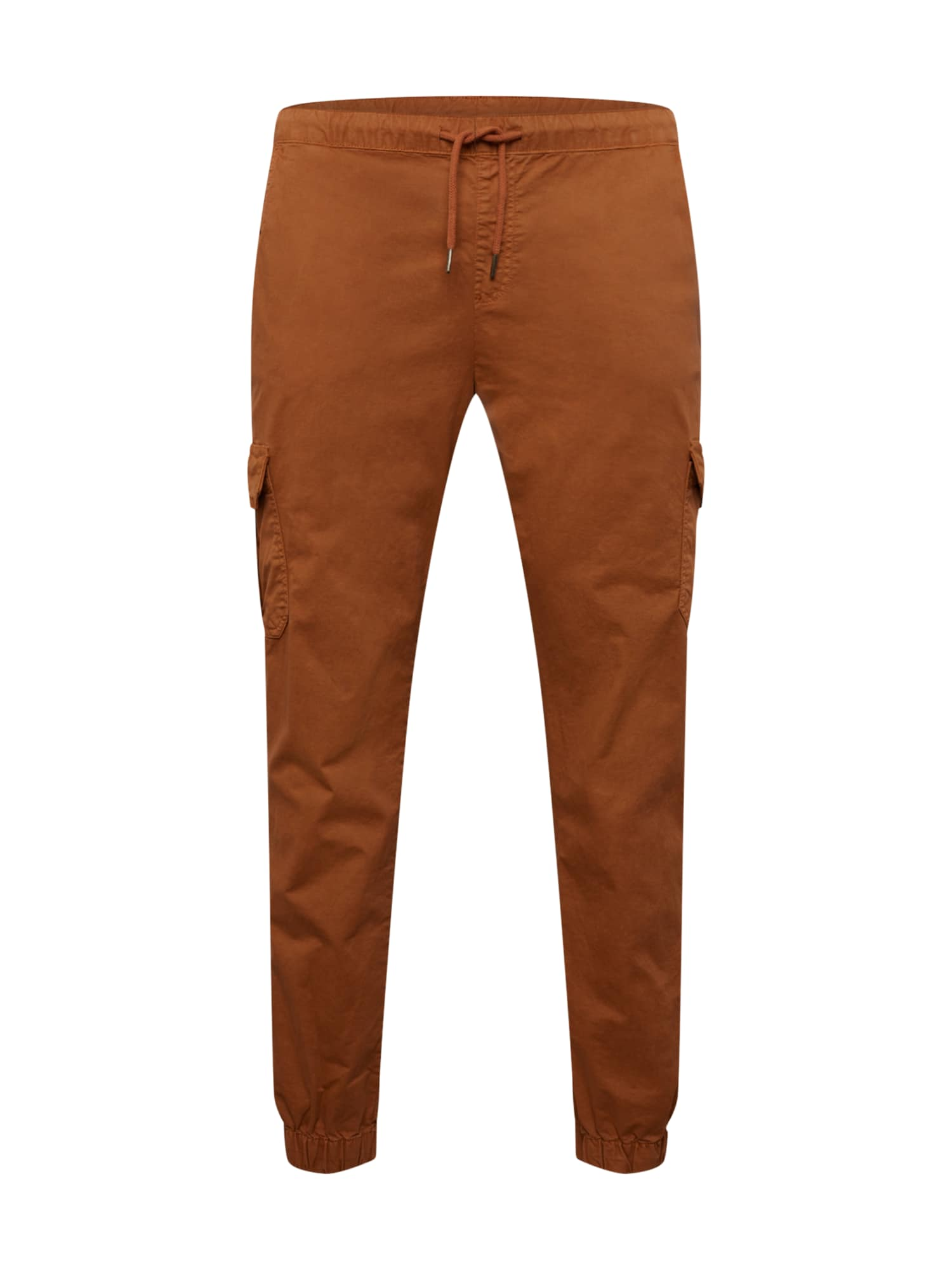 Urban Classics Curvy Laisvo stiliaus kelnės ruda