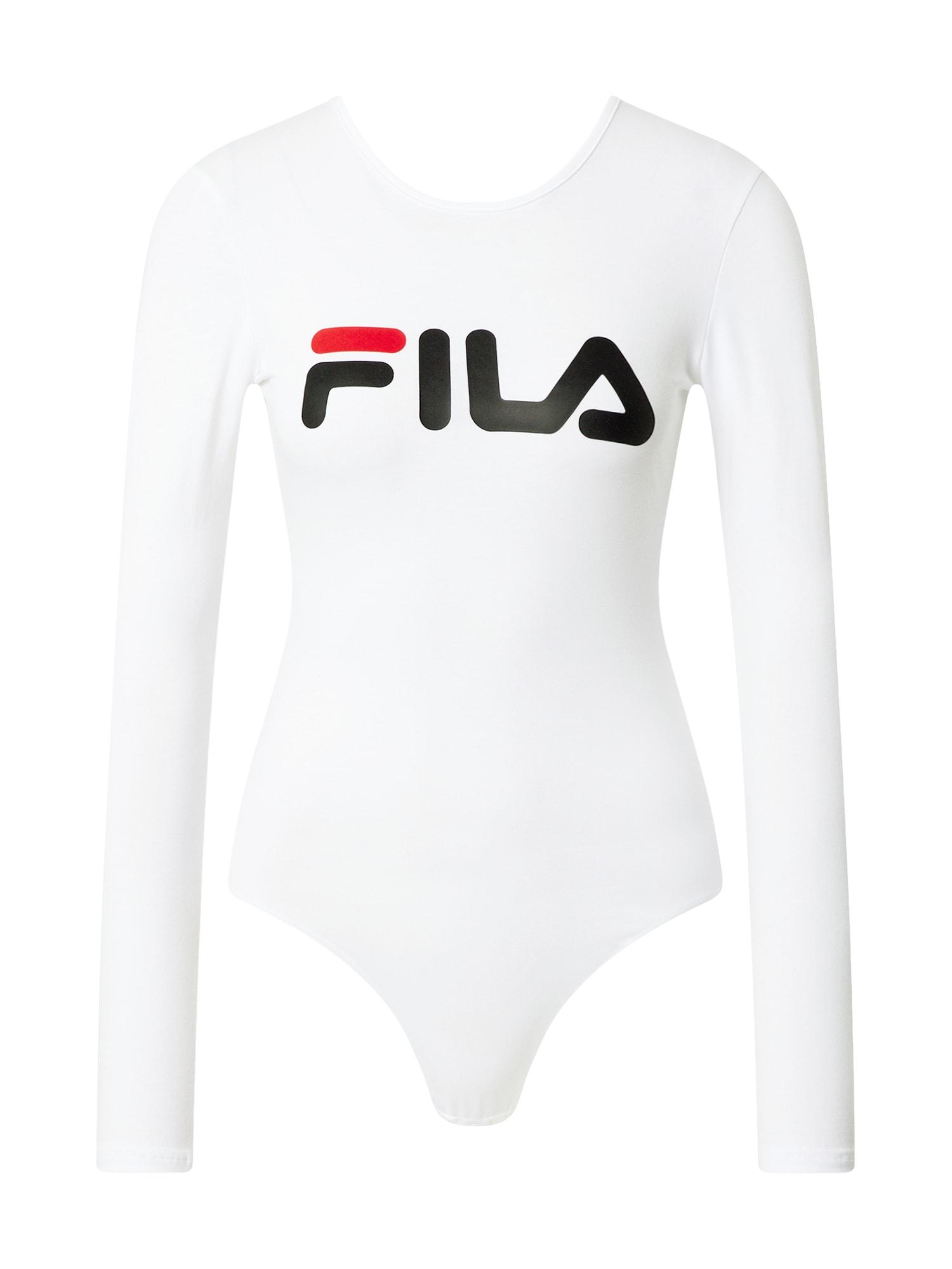 FILA Body 'Yulia'  perlově bílá / černá / červená