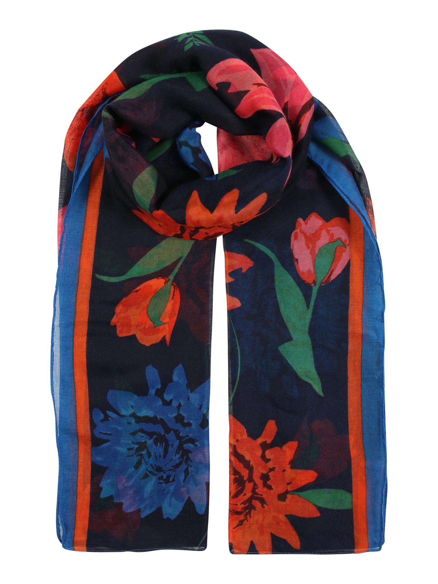 Dorothy Perkins Šalikas mišrios spalvos / tamsiai mėlyna