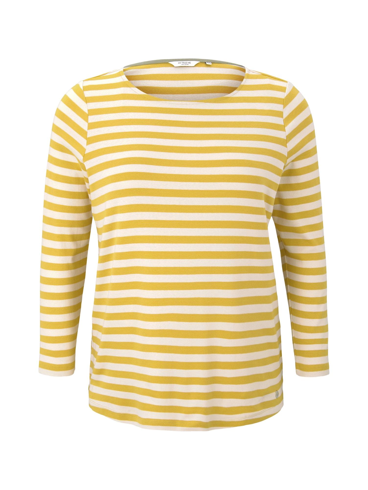 MY TRUE ME Marškinėliai geltona / balta