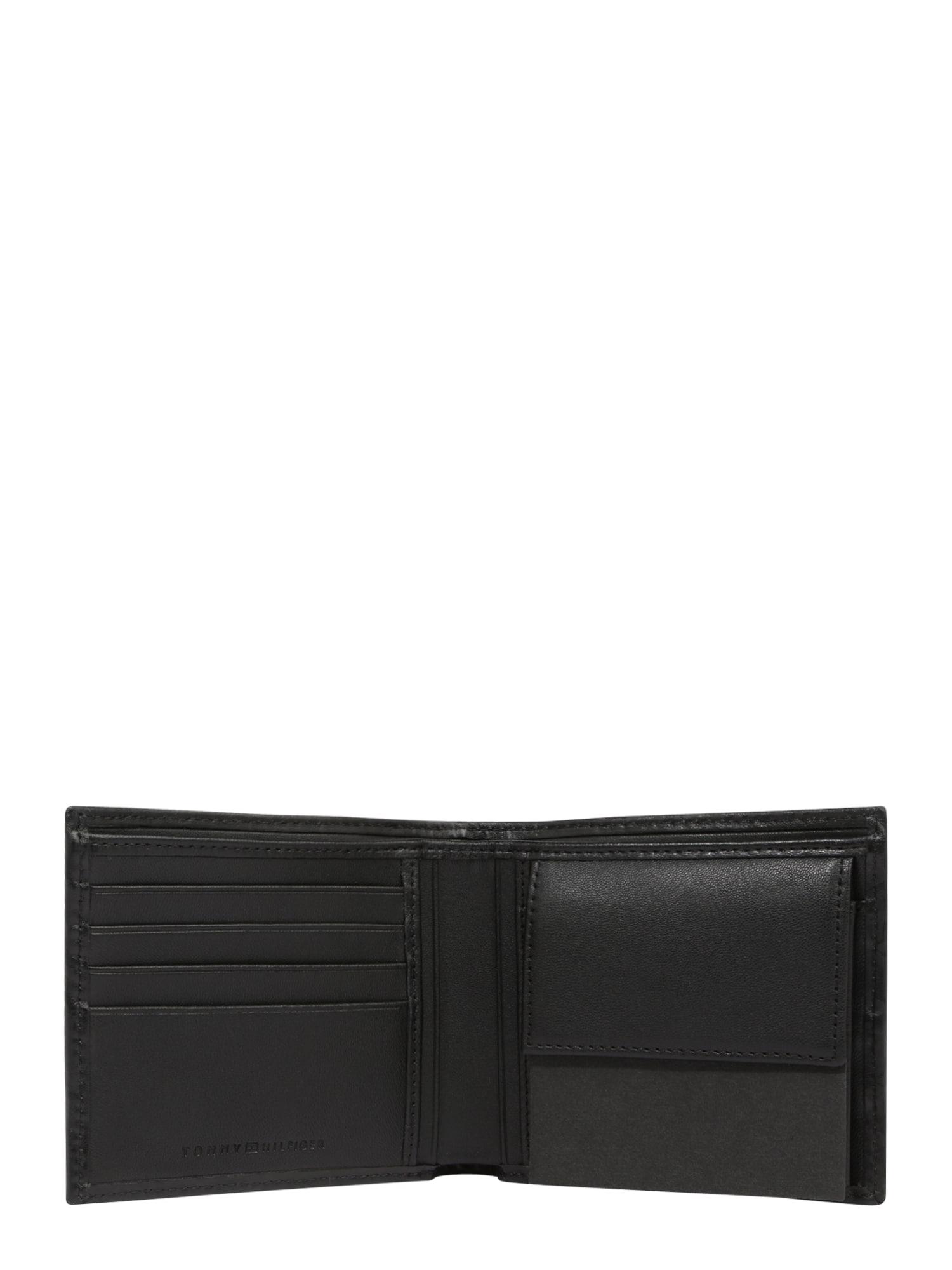 Tommy hilfiger porte-monnaies noir / gris / blanc