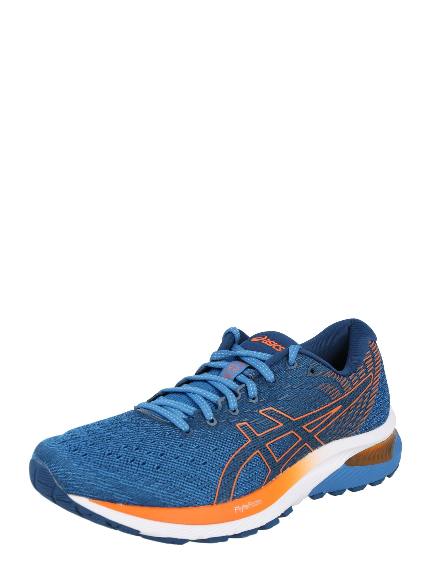 ASICS Bėgimo batai mėlyna / oranžinė