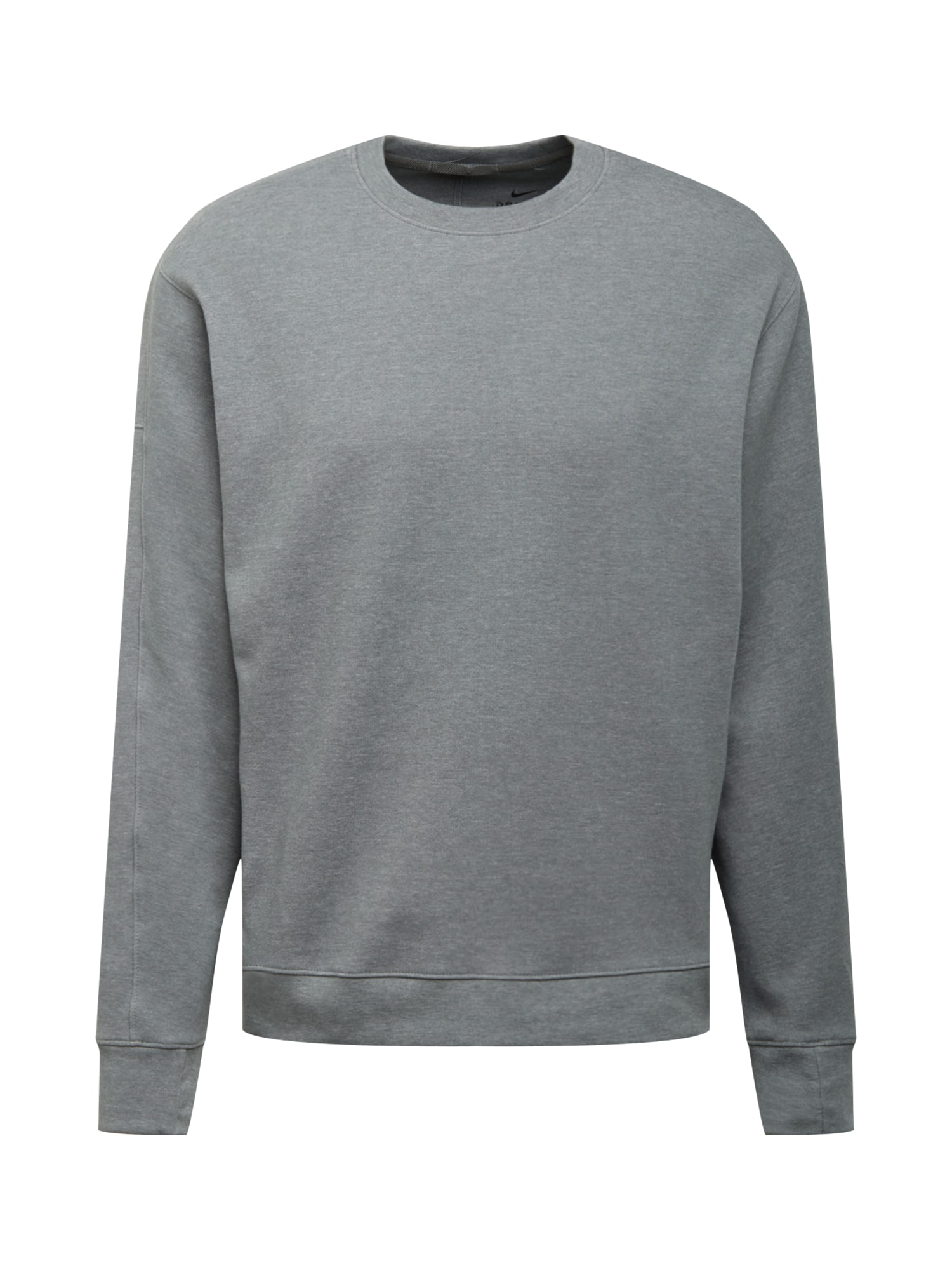 NIKE Sportinio tipo megztinis margai pilka / juoda