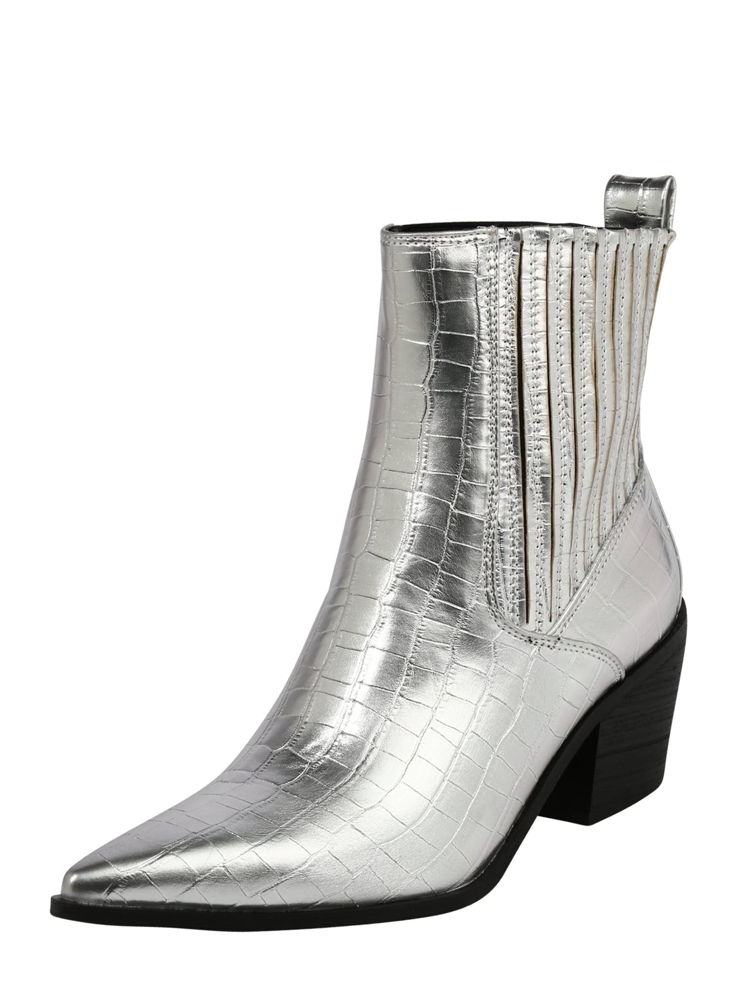 Raid Chelsea boty 'ROCCO'  stříbrná