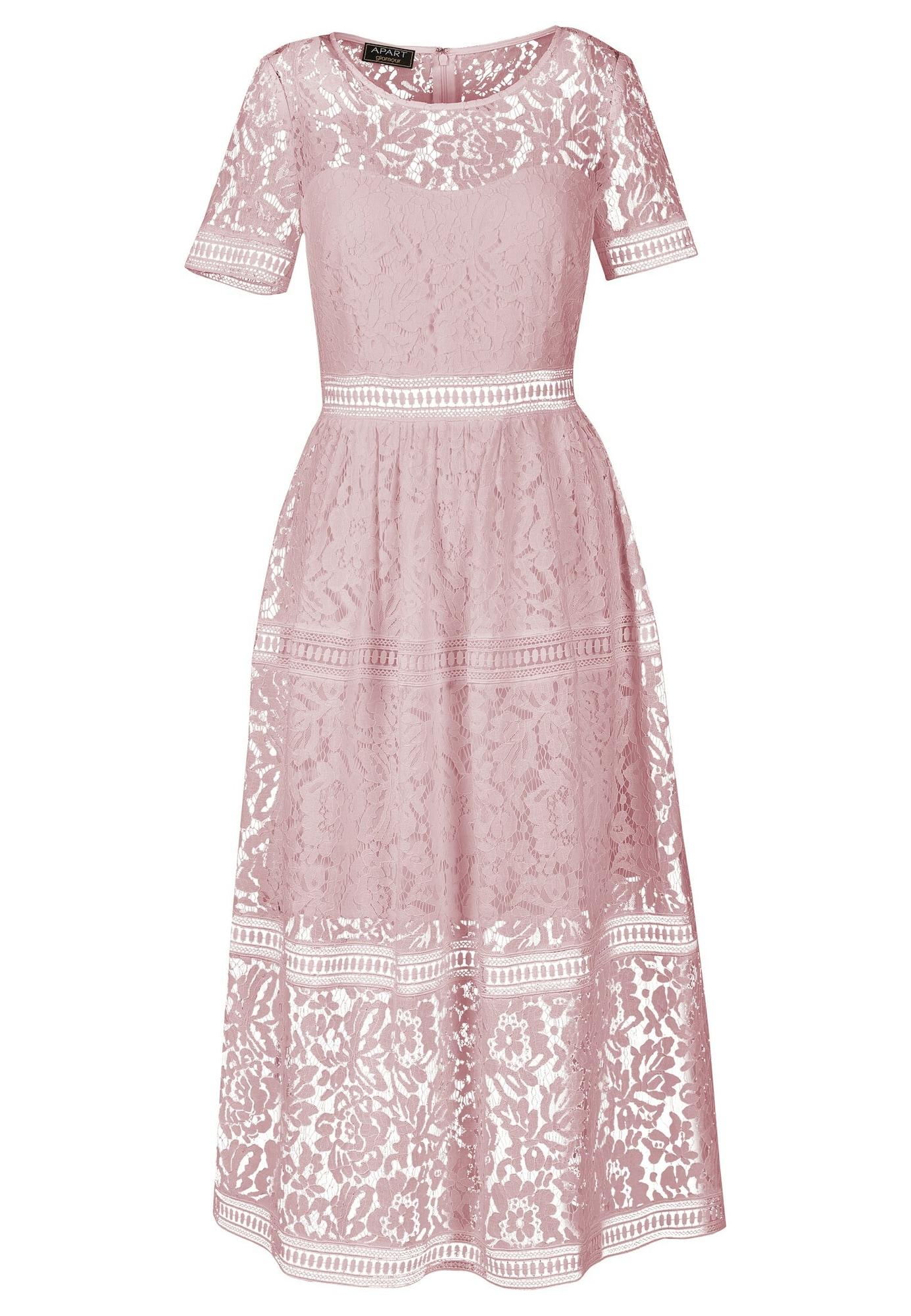 APART Vasarinė suknelė alyvinė spalva