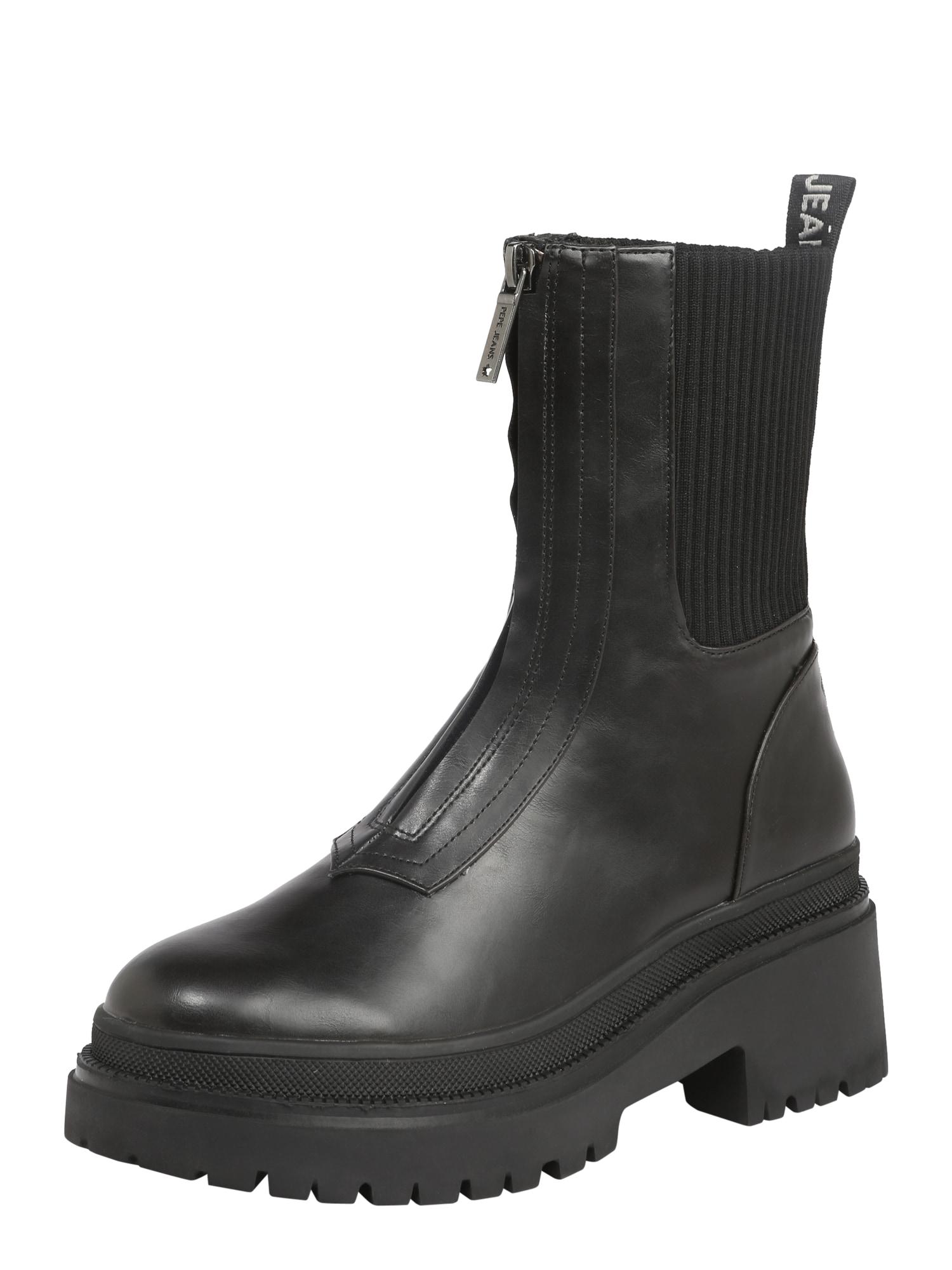Pepe Jeans Chelsea čižmy 'ROCK'  čierna.