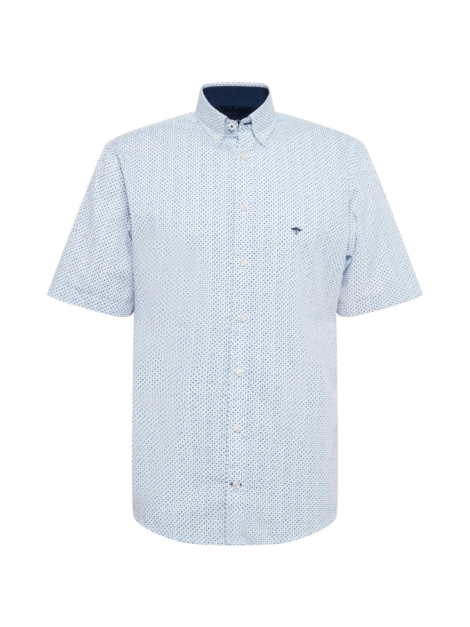 FYNCH-HATTON Marškiniai šviesiai mėlyna / tamsiai mėlyna / dangaus žydra